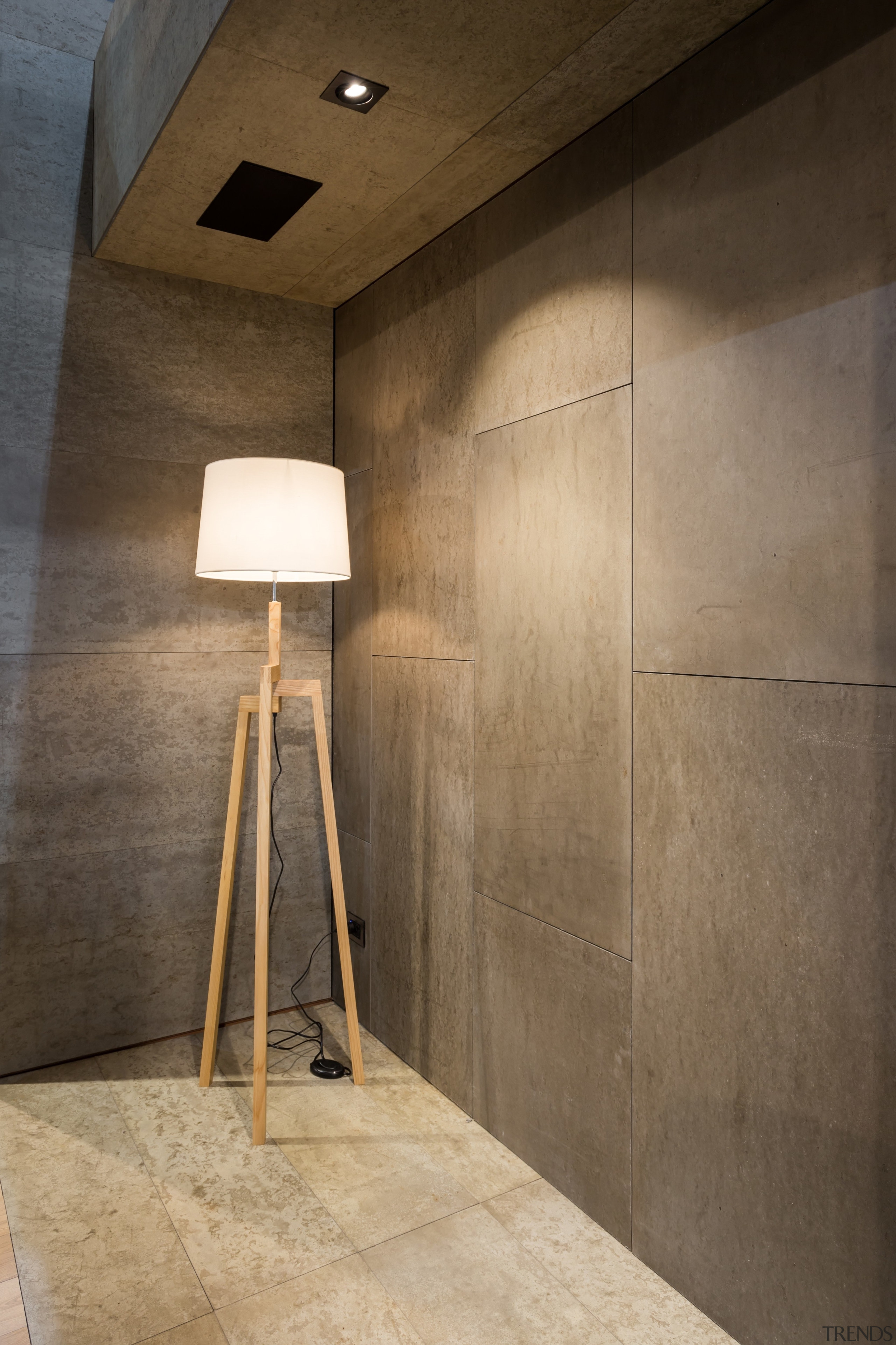 IMG_6170 - architecture   ceiling   daylighting   architecture, ceiling, daylighting, floor, flooring, interior design, lamp, light fixture, lighting, product design, tile, wall, brown