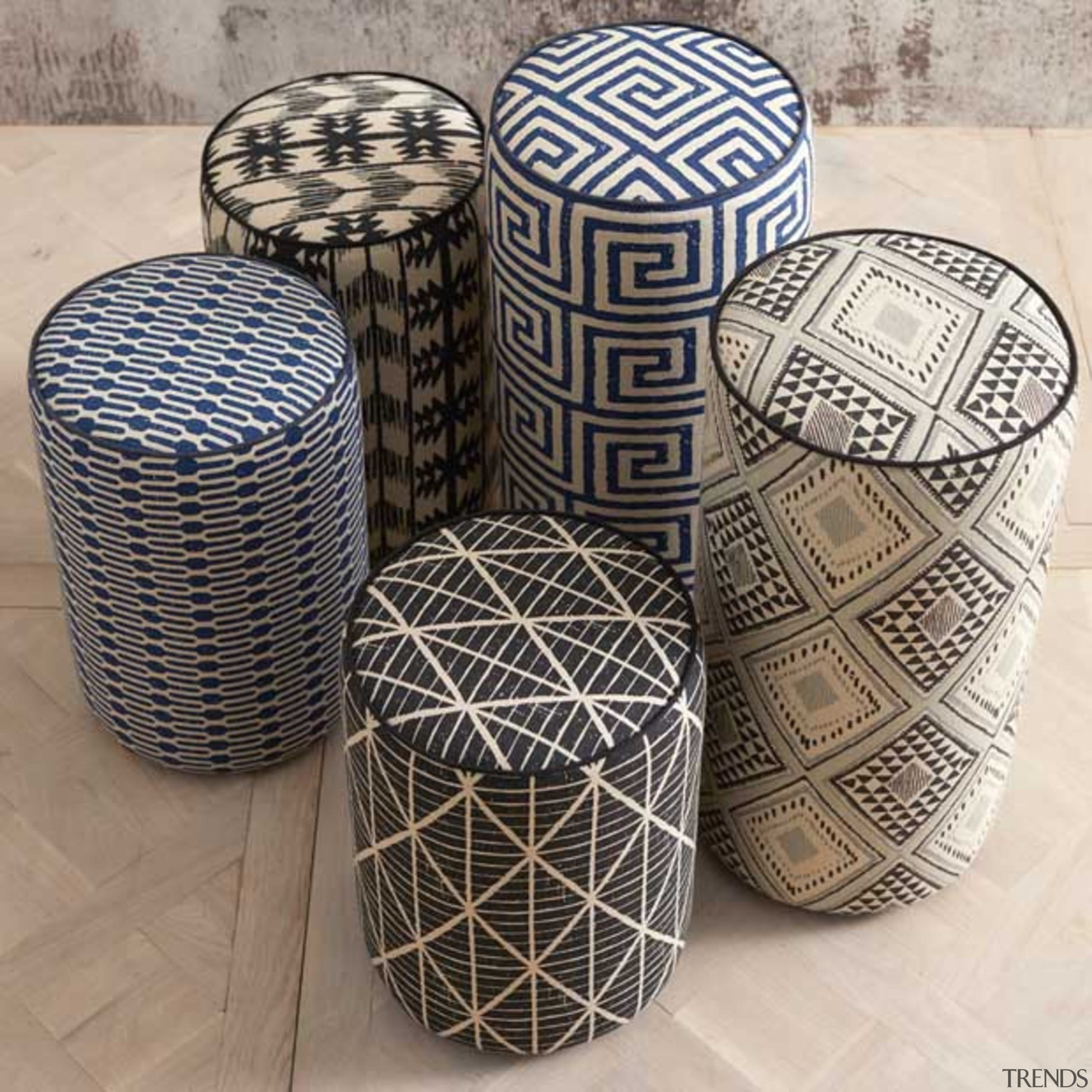 Exotic and eclectic yet effortlessly relaxed, ADITI is furniture, wicker, gray