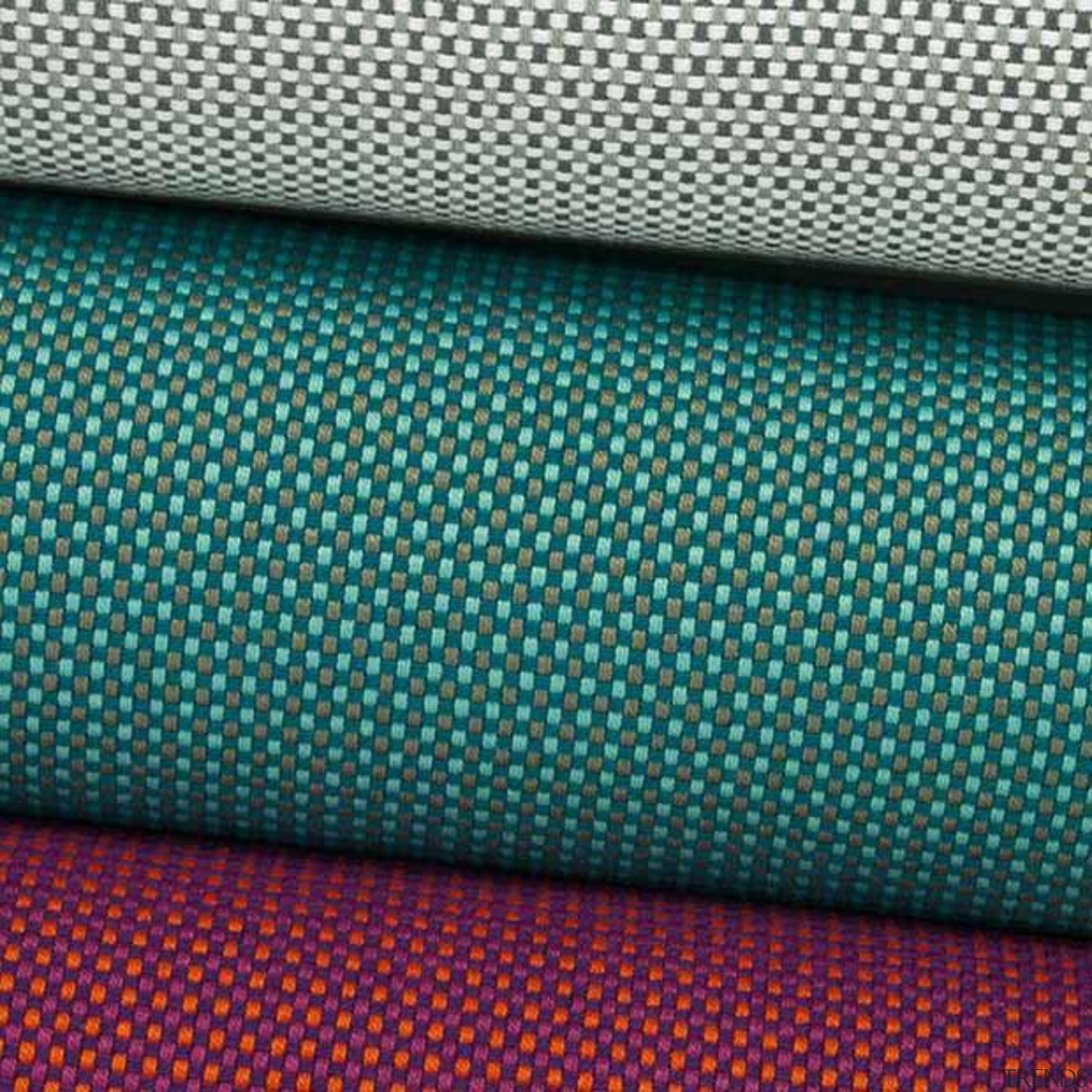 A lovely small scale patterned heavy commercial fabric. blue, electric blue, green, line, material, mesh, pattern, textile, turquoise, teal