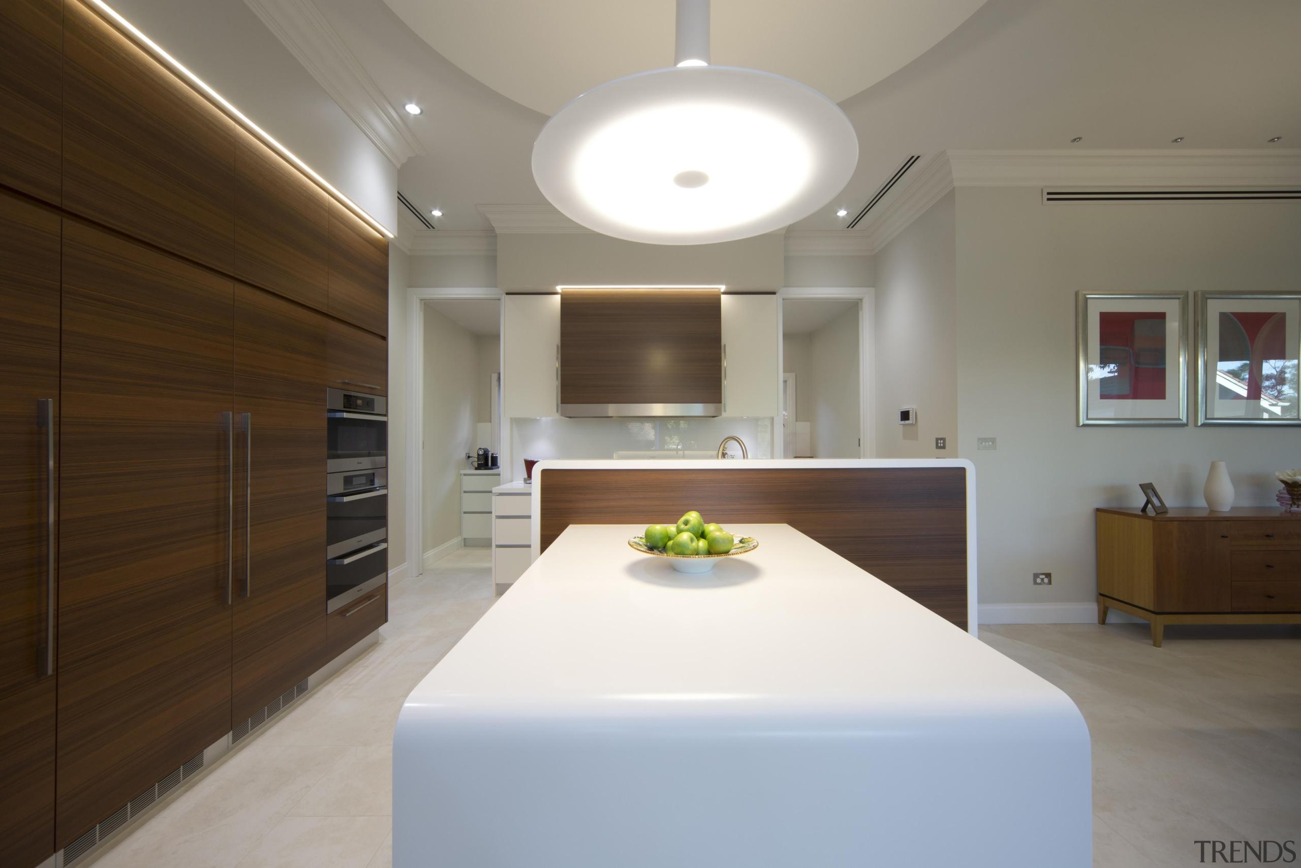 Winner Kitchen Design & Kitchen of the Year architecture, ceiling, interior design, kitchen, real estate, room, gray, brown
