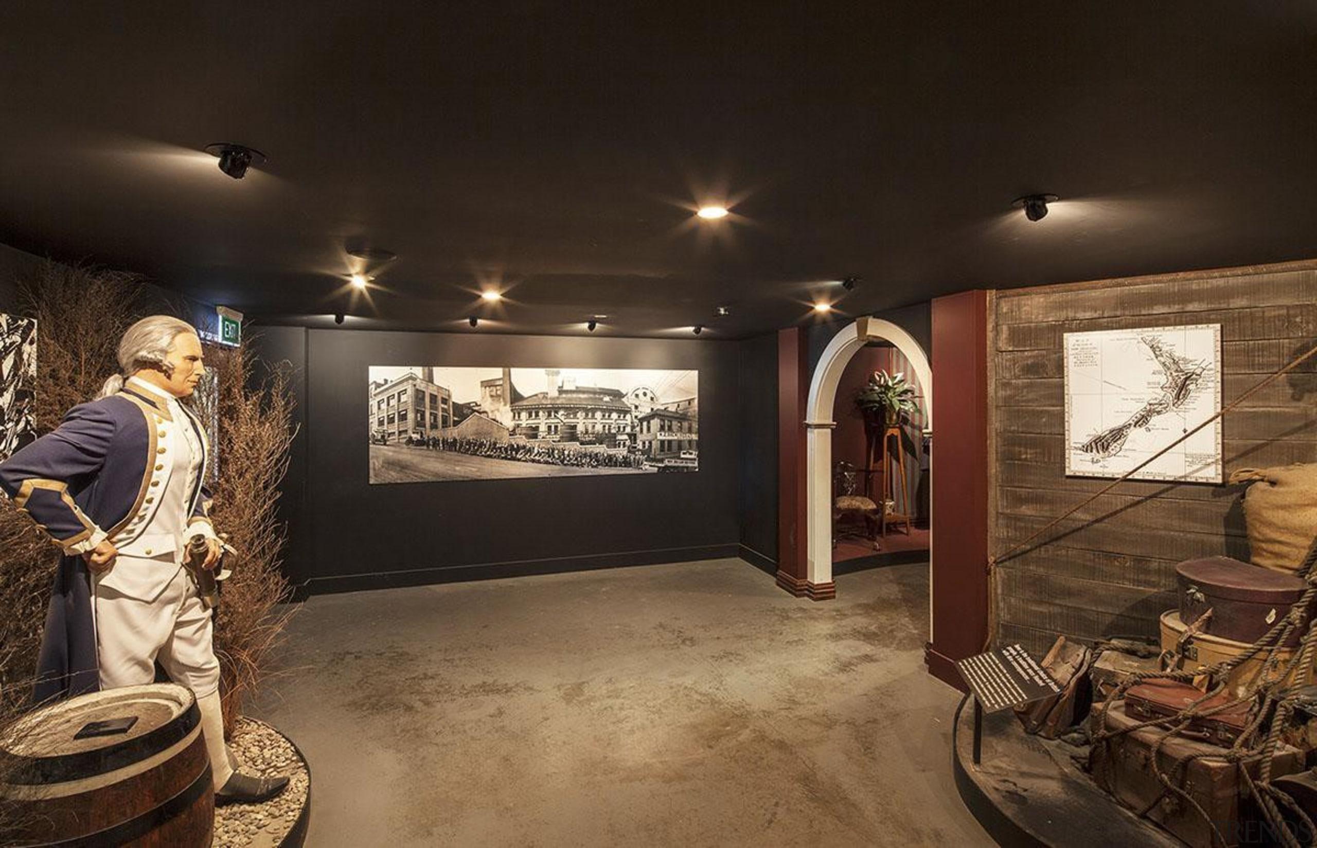 NOMINEESpeights Brewery (3 of 4) - Hawkins Contruction ceiling, exhibition, interior design, museum, tourist attraction, black, brown