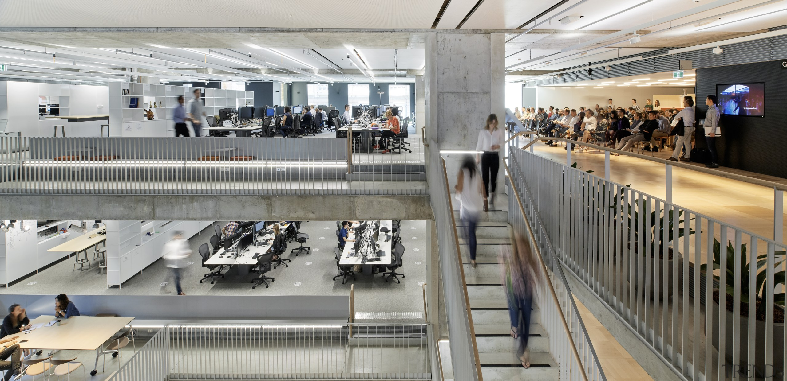 In concert – the Arup offices are equipped architecture, building, Arup offices, meeting spaces