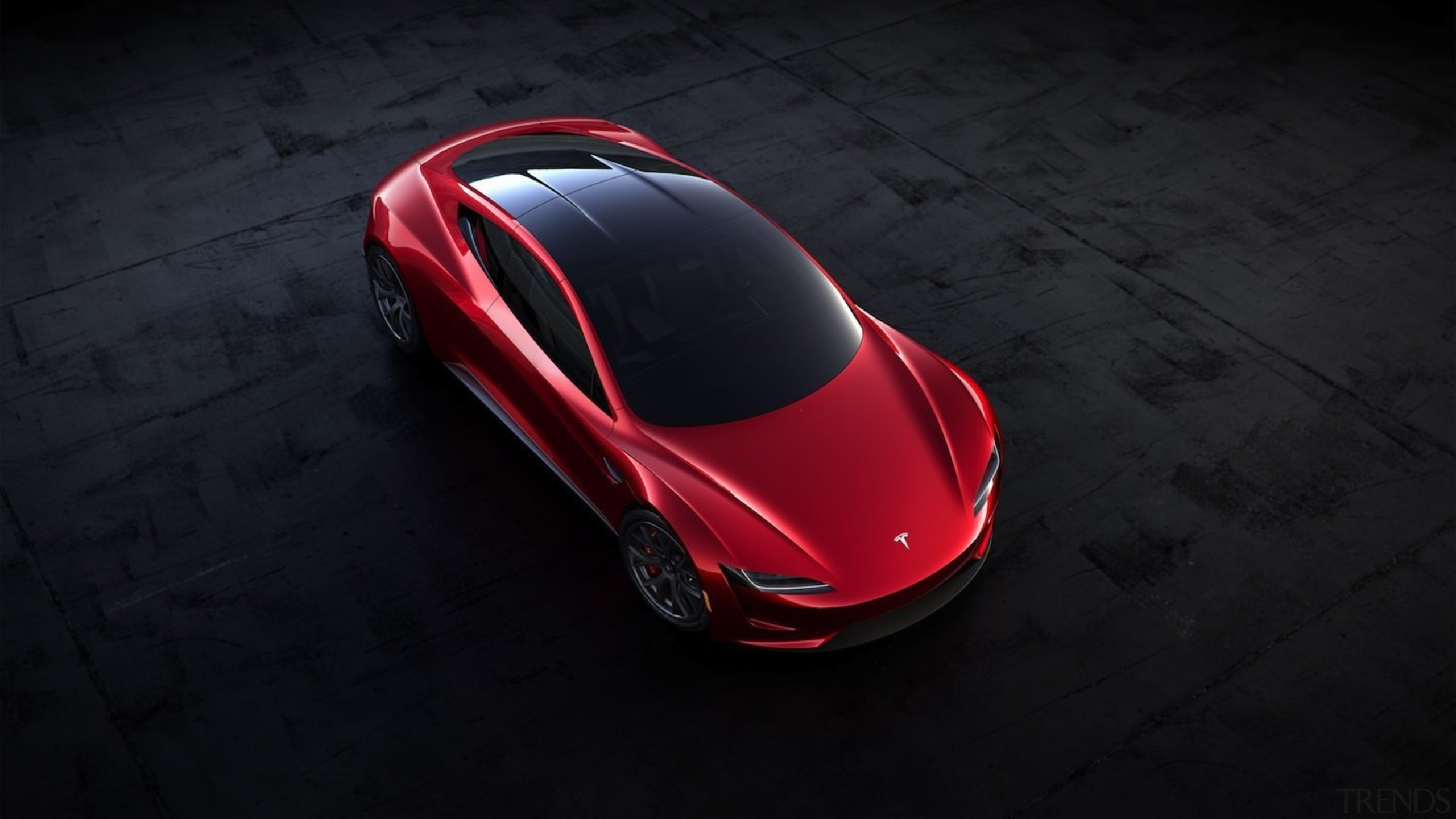 Tesla's new Roadster - Tesla's new Roadster - automotive design, automotive lighting, car, computer wallpaper, concept car, ferrari 458, land vehicle, luxury vehicle, mode of transport, motor vehicle, performance car, product design, race car, red, sports car, supercar, technology, vehicle, black