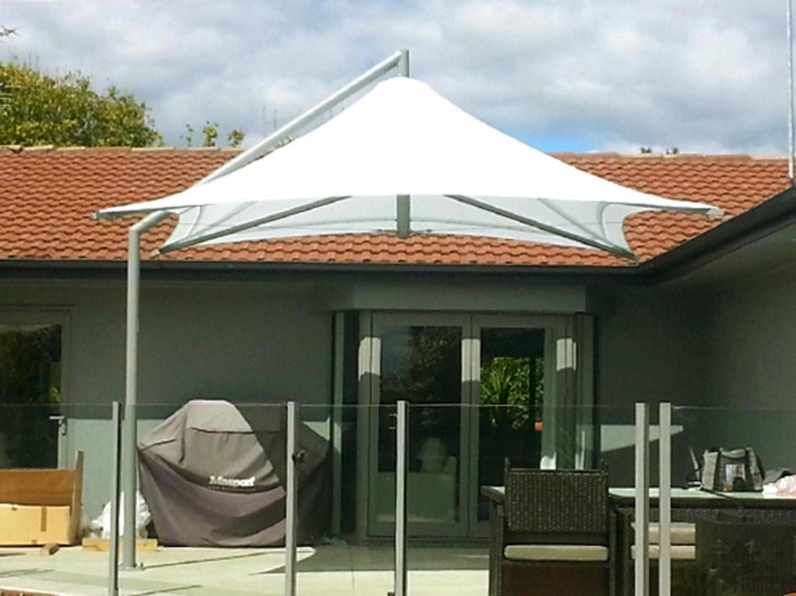 Summit Parasols - canopy | daylighting | outdoor canopy, daylighting, outdoor structure, real estate, roof, shade, black, white