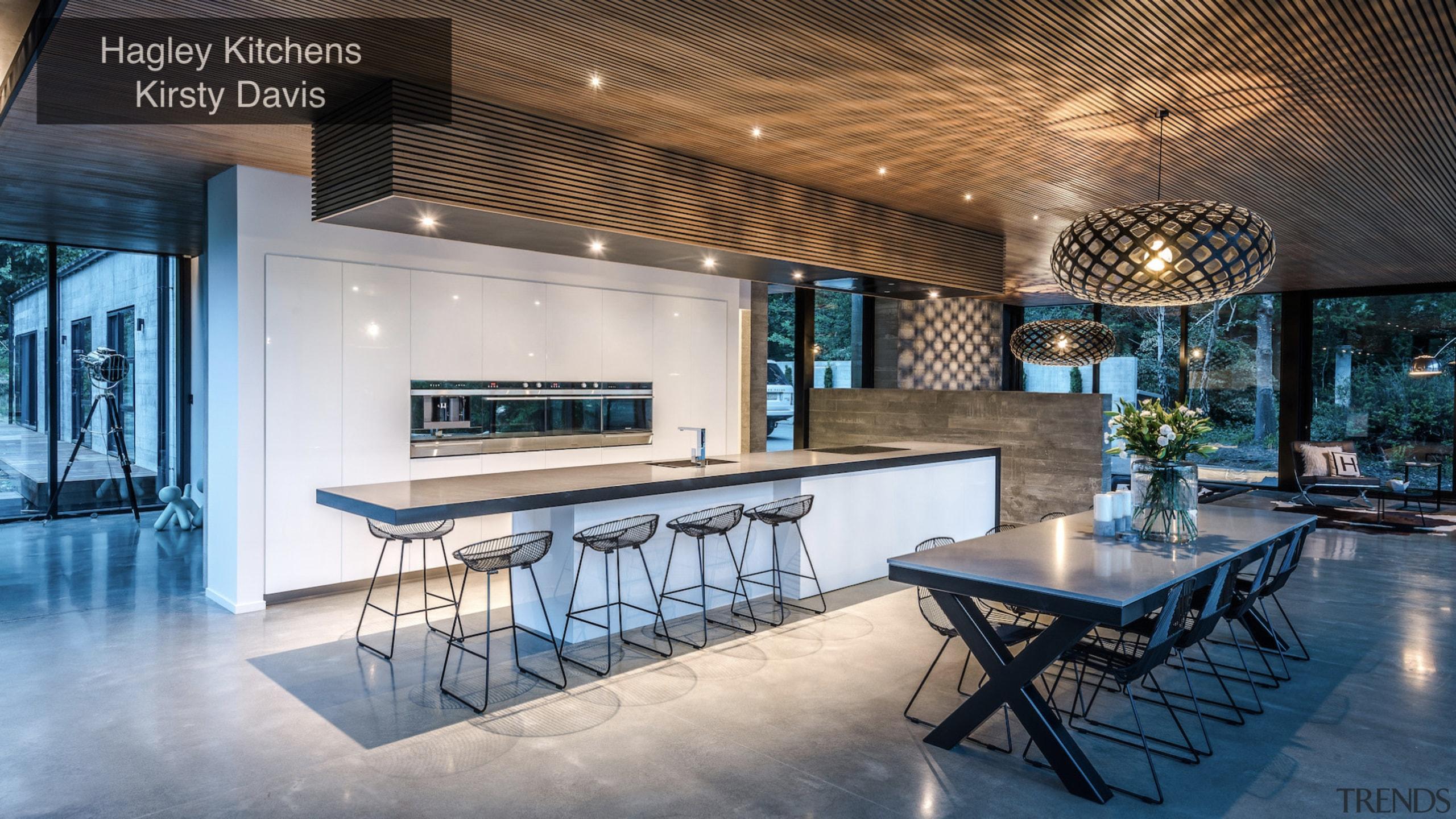 Hagley Kitchens, Kirsty Davis – TIDA New Zealand architecture, ceiling, estate, home, interior design, real estate, table, gray