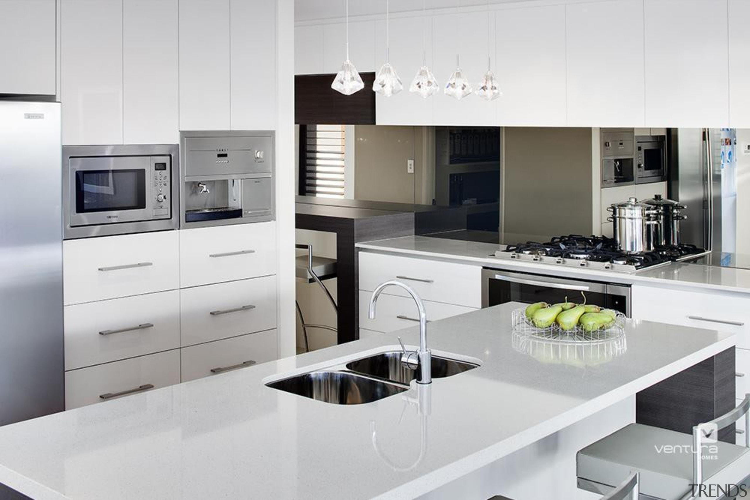 Kitchen design. - The New Dimension Display Home countertop, cuisine classique, home appliance, interior design, kitchen, kitchen appliance, kitchen stove, major appliance, product, product design, small appliance, white
