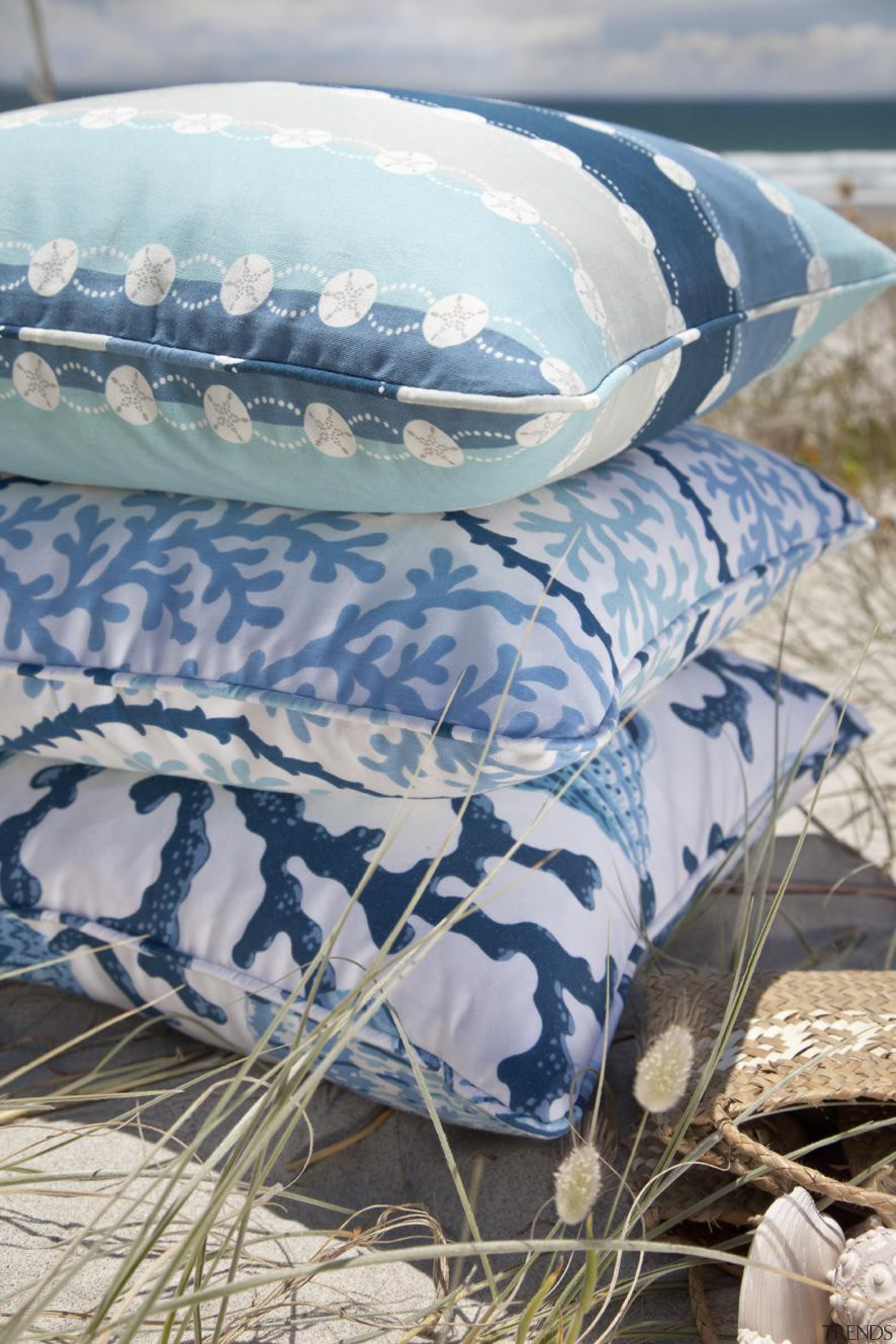 Something for summer - Maldives drapery collection bed sheet, textile, water, gray
