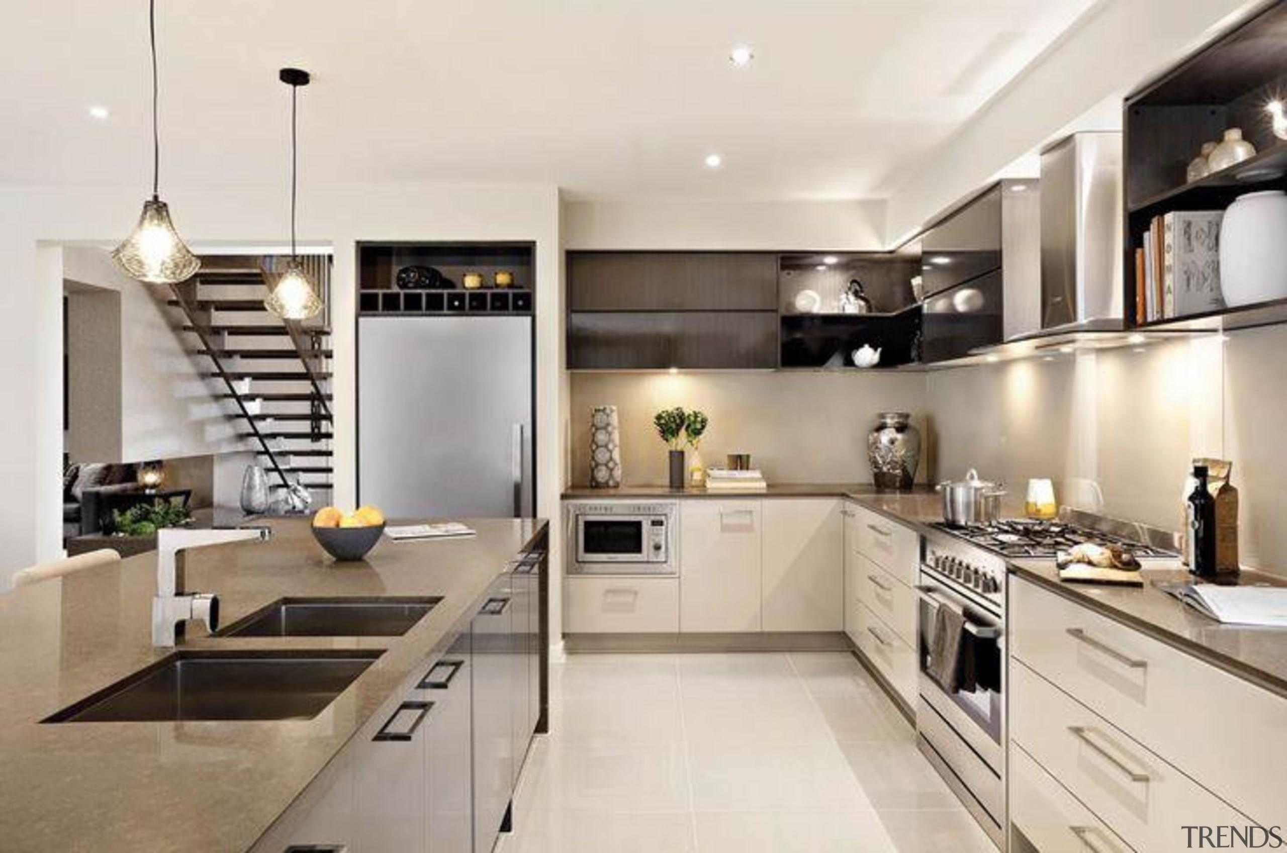 Carlisle Homes Wild Rice - Wild Rice™ - countertop, cuisine classique, interior design, kitchen, white