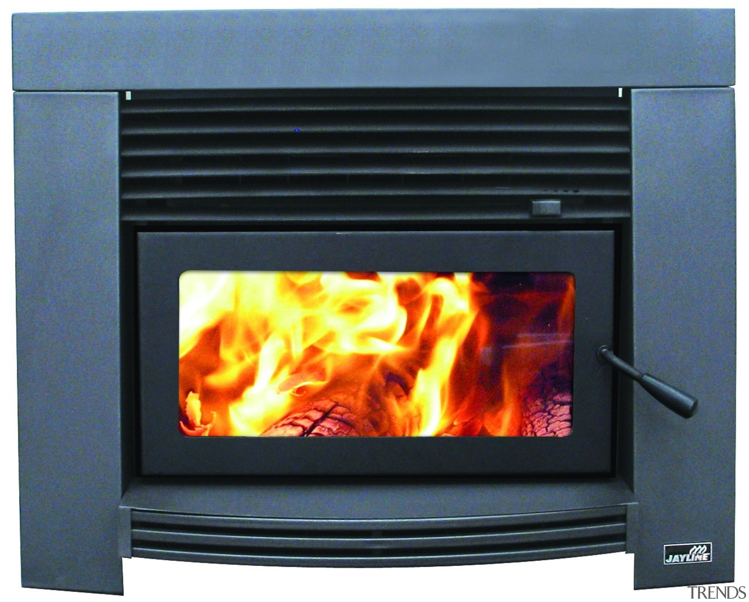 Jayline IS550 Insert 14kW Wood Fire - Jayline hearth, heat, home appliance, wood burning stove, black