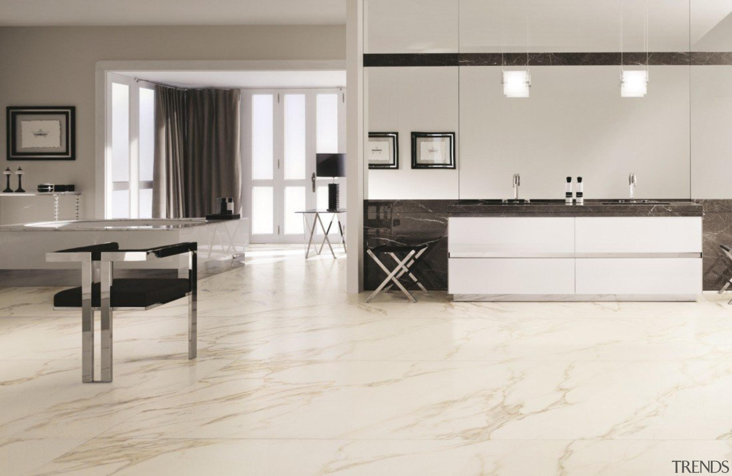 Keralite by Cotto D'Este - Keralite by Cotto countertop, floor, flooring, furniture, hardwood, interior design, kitchen, laminate flooring, product design, tile, wall, wood, wood flooring, white