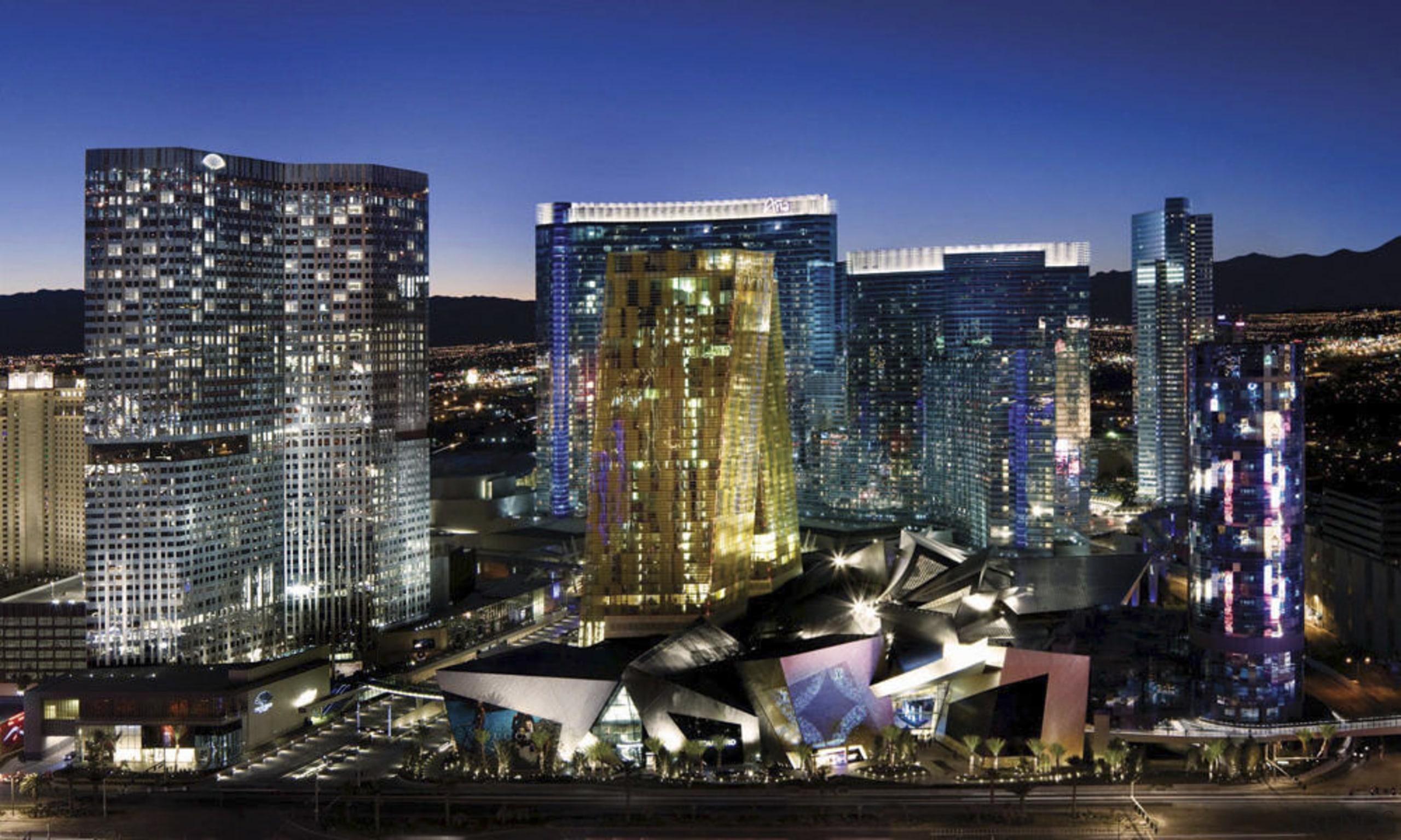CityCenter, Las Vegas - CityCenter, Las Vegas - building, city, cityscape, commercial building, condominium, downtown, hotel, landmark, metropolis, metropolitan area, mixed use, night, skyline, skyscraper, tower block, urban area, blue, black