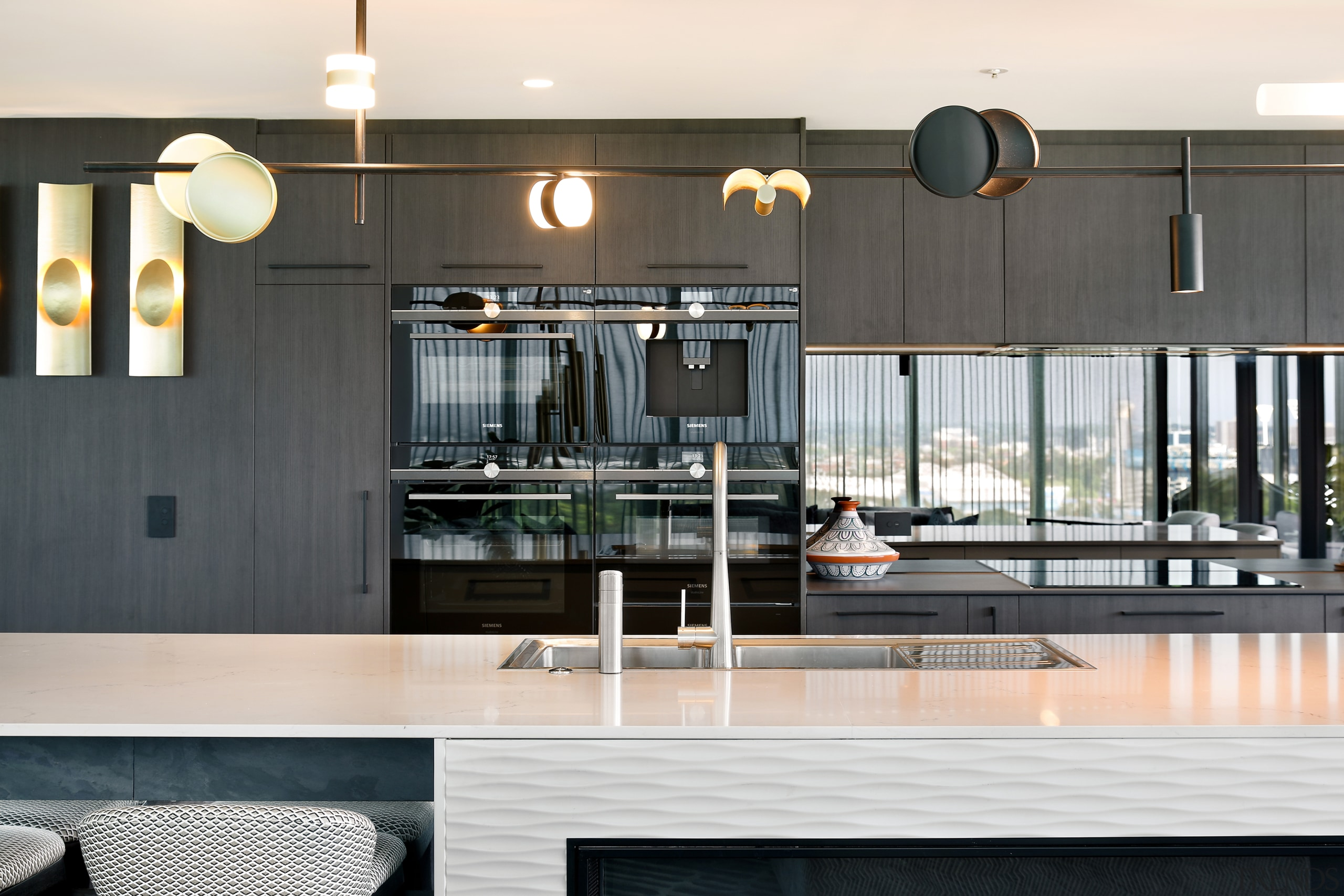 The new kitchen from the lounge. - Your