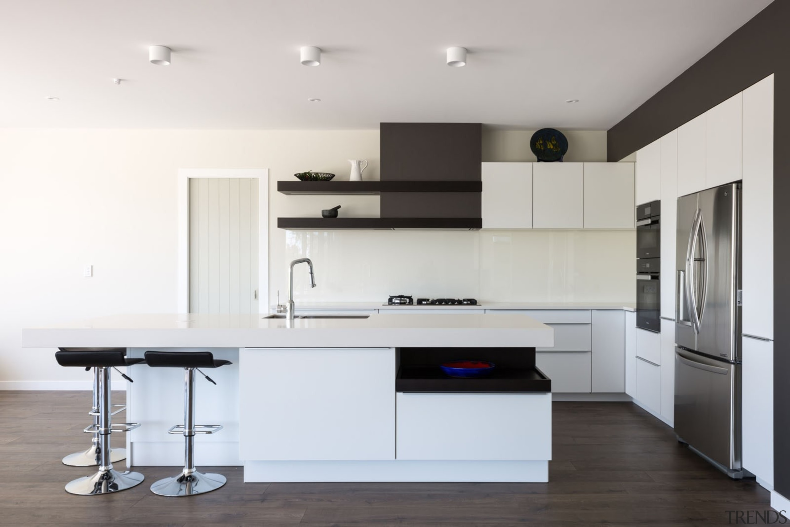 IMGL9856-9 - Dairy Flat Kitchen - countertop | countertop, floor, furniture, interior design, kitchen, product design, room, white