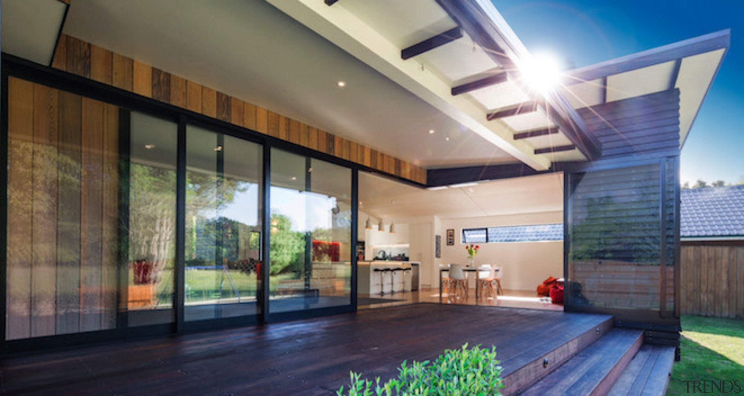Unobstructed panoramic 7-meter picture windows from Windowmakers blurs architecture, ceiling, condominium, daylighting, estate, home, house, interior design, lobby, property, real estate, window, gray