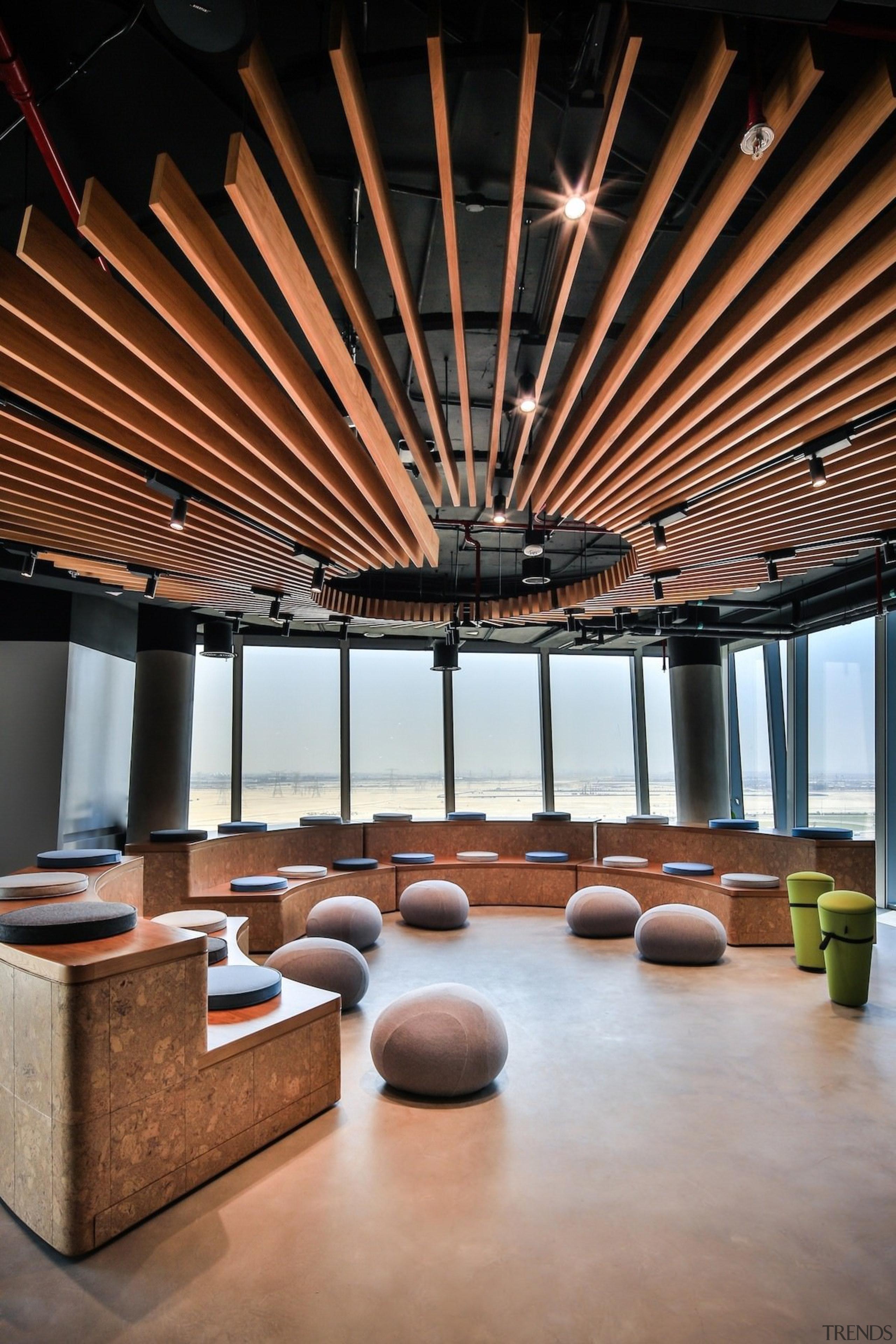 Smart Dubai - Smart Dubai - architecture | architecture, ceiling, daylighting, furniture, interior design, lobby, table, brown