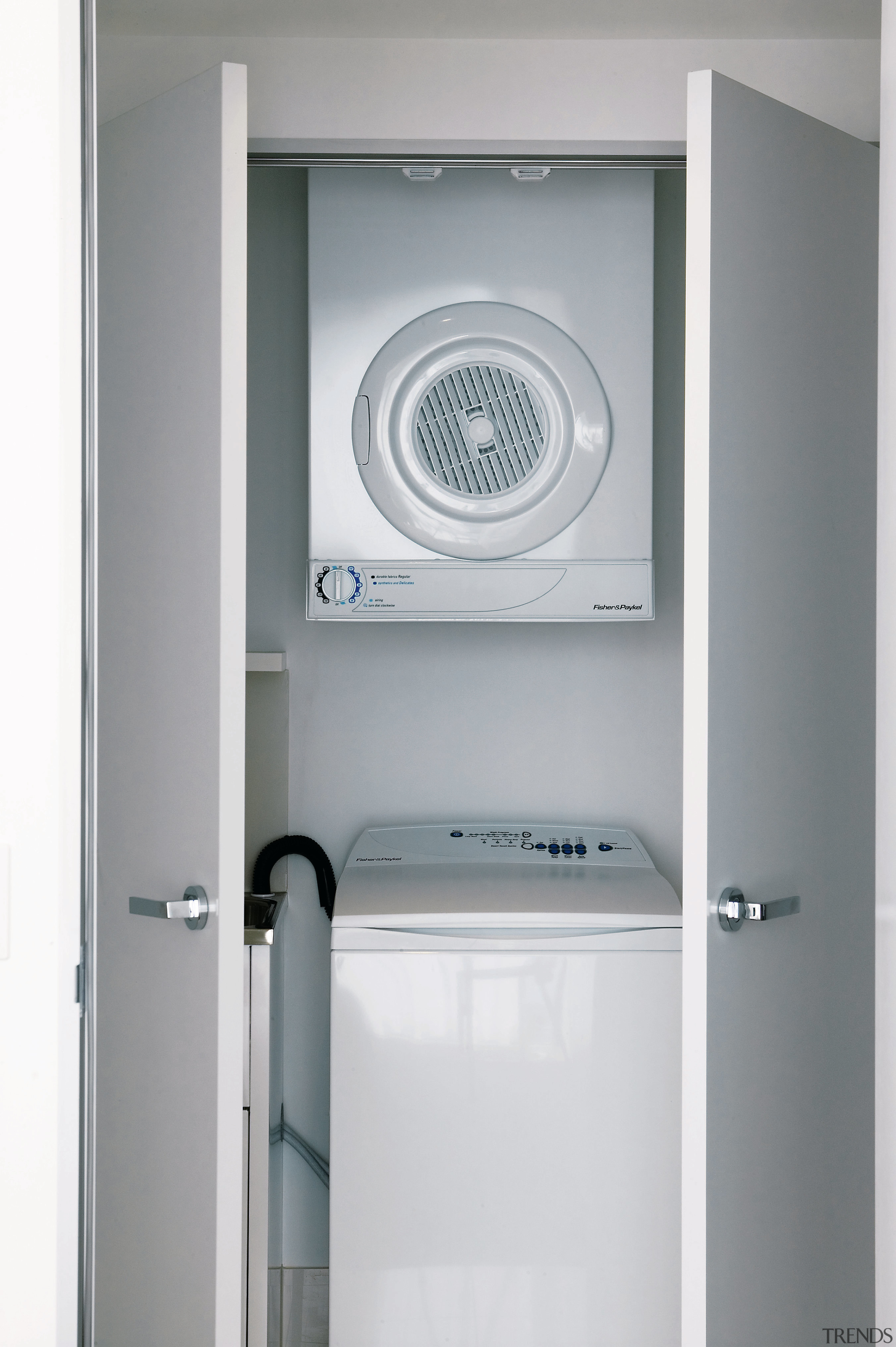 A view of this cupboard that conceals the door, product, product design, gray, white