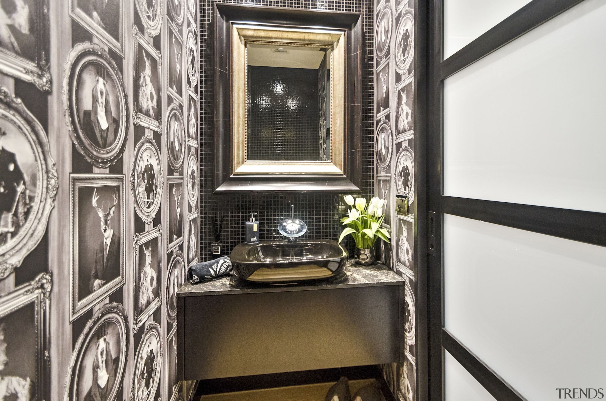 Black, white and offbeat is the theme for interior design, property, window, white, black