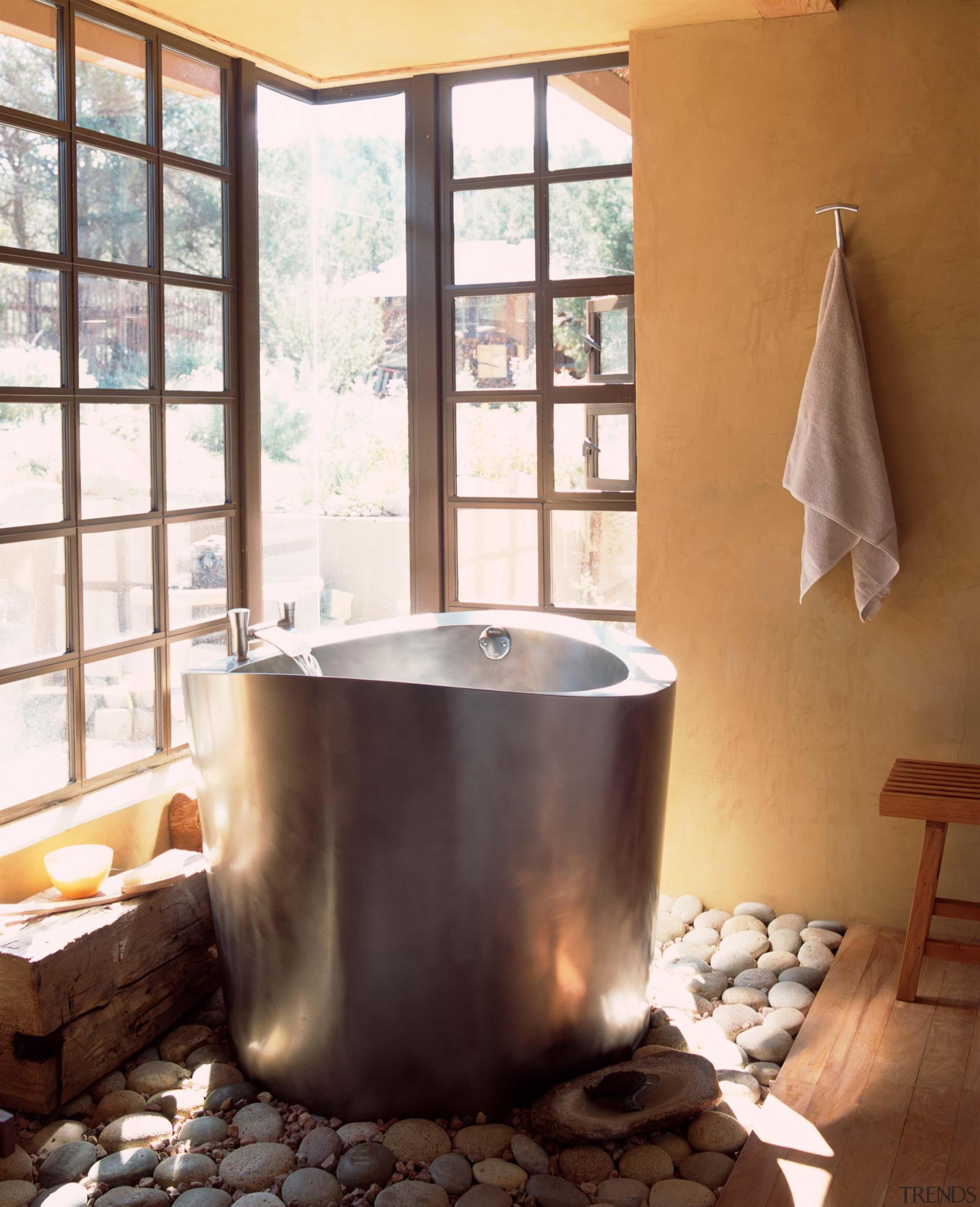 Diamond Spas modern version of the Japanese Ofuro bathroom, bathtub, interior design, plumbing fixture, room, sink, white