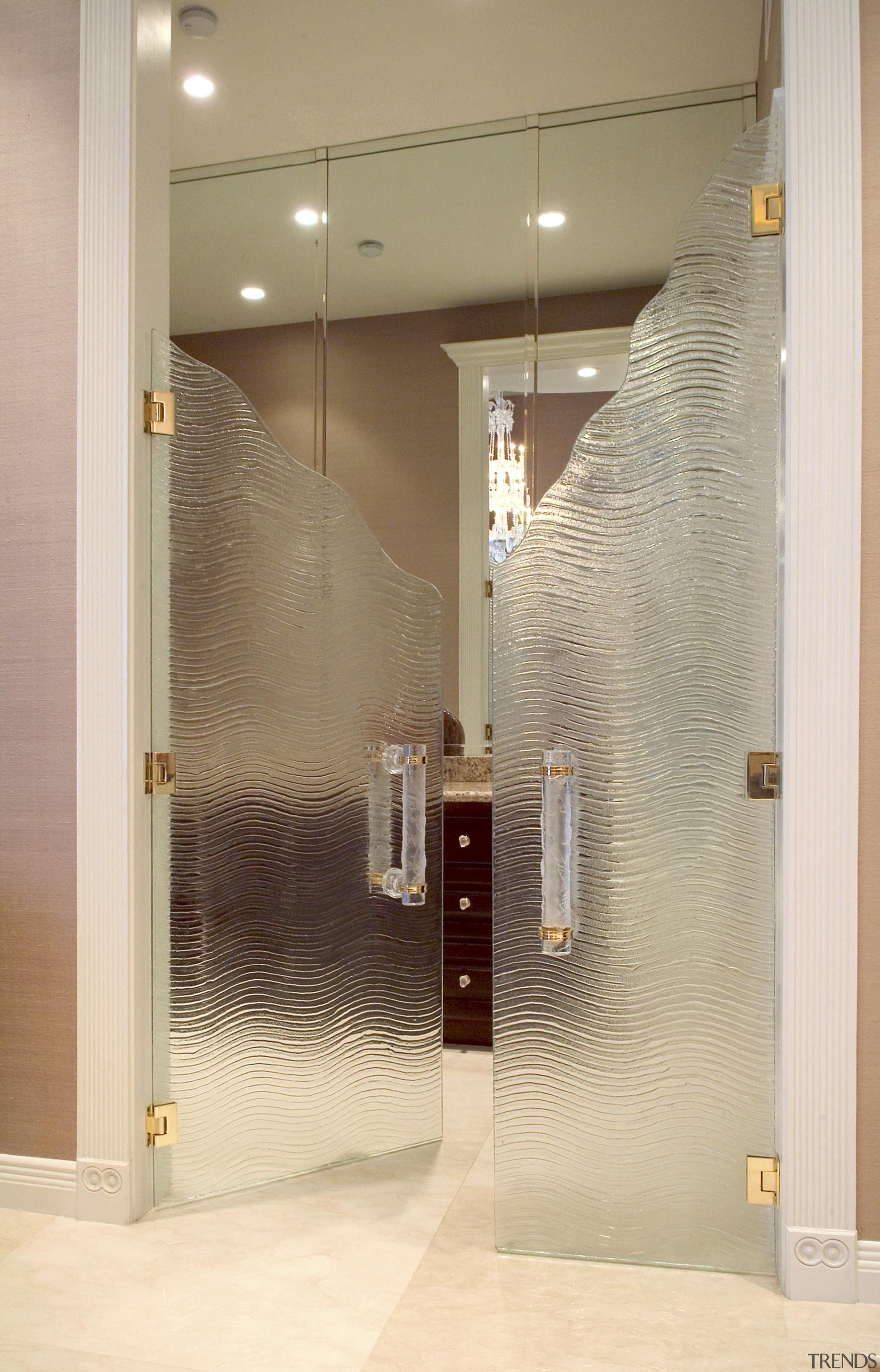 Interior Glass door - Interior Glass door - bathroom, door, glass, interior design, plumbing fixture, wall, orange, brown