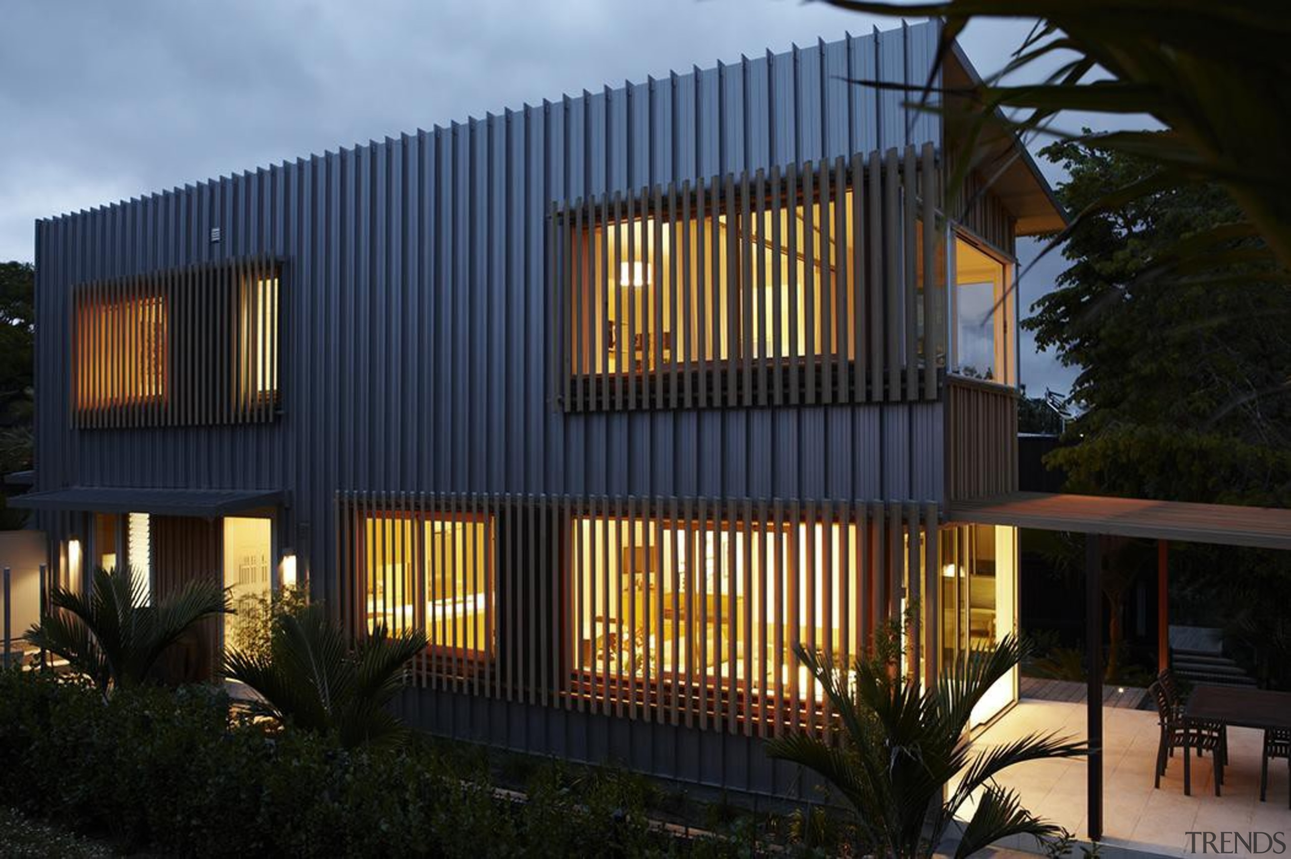 Parnell, Auckland - Nikau House - architecture | architecture, building, elevation, facade, home, house, property, real estate, residential area, siding, window, black