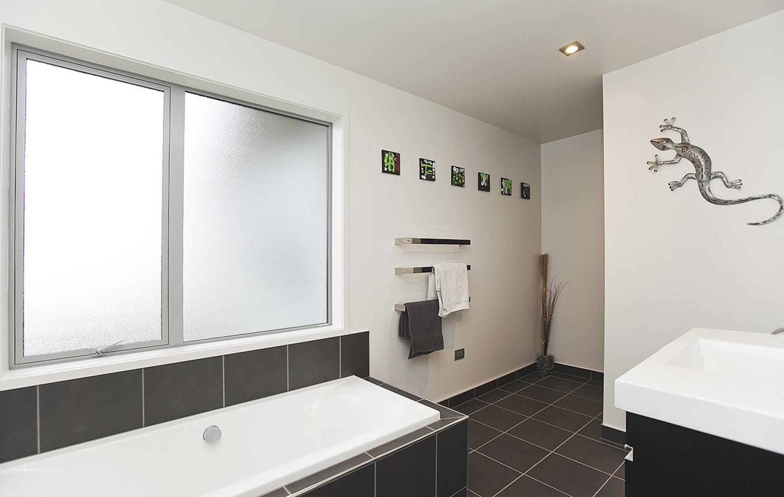 For more information, please visit www.gjgardner.co.nz bathroom, floor, home, interior design, property, real estate, room, window, white
