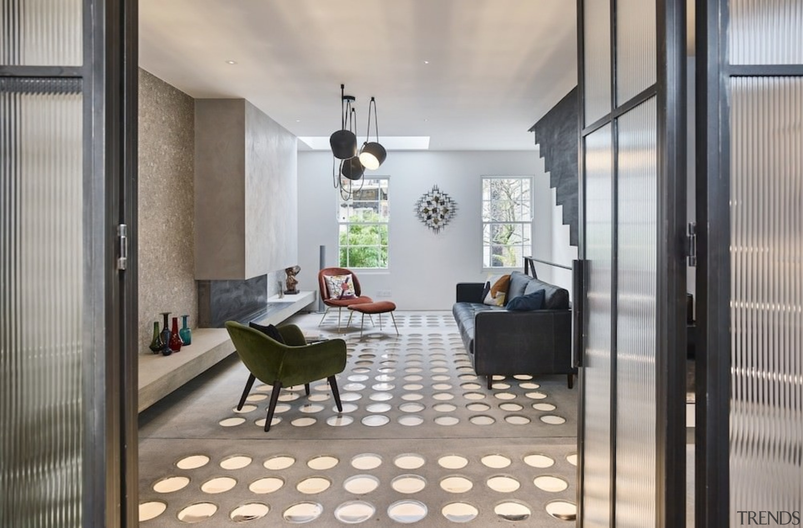 Andy Martin Architecture – Renovation in London - architecture, ceiling, floor, flooring, home, house, interior design, loft, property, real estate, gray