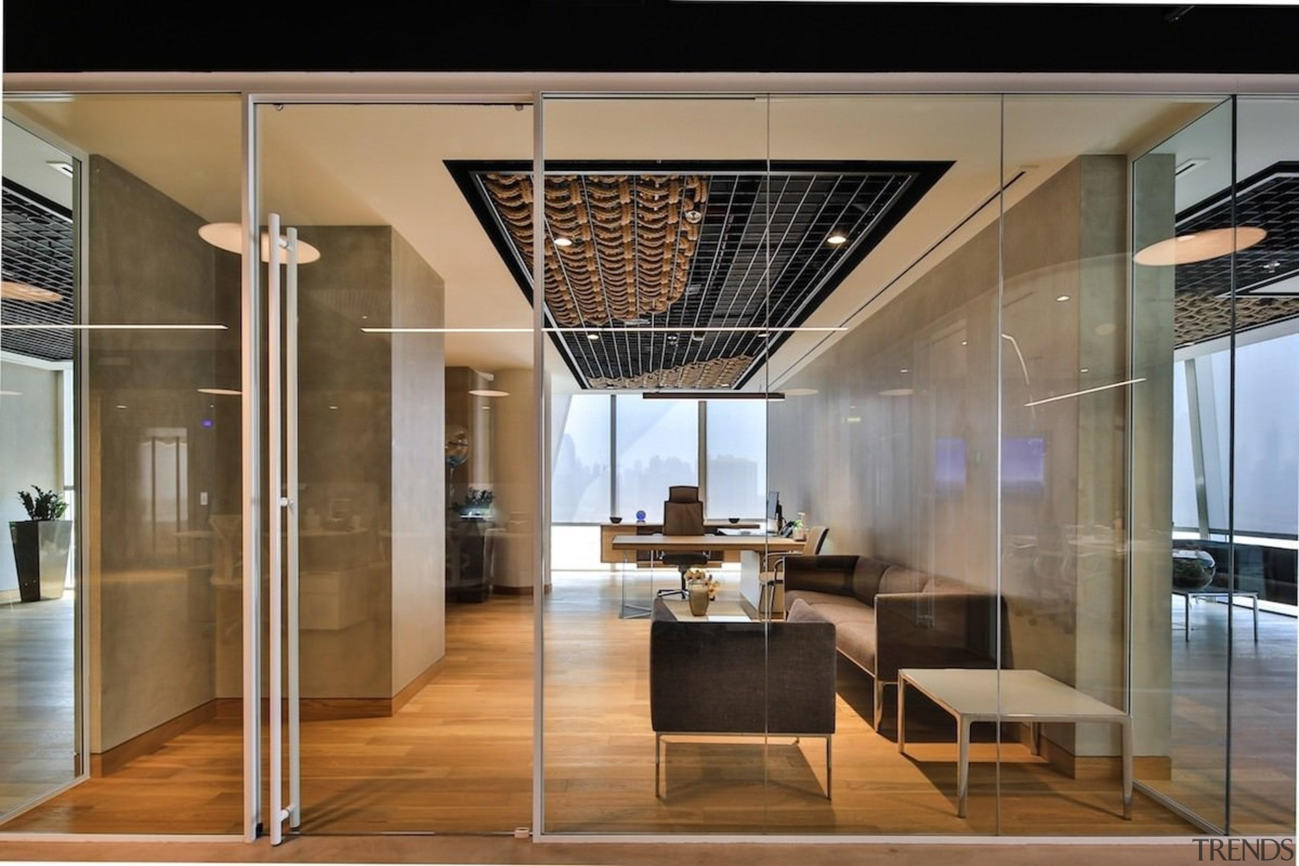 Smart Dubai - Smart Dubai - ceiling | ceiling, glass, interior design, lobby, brown