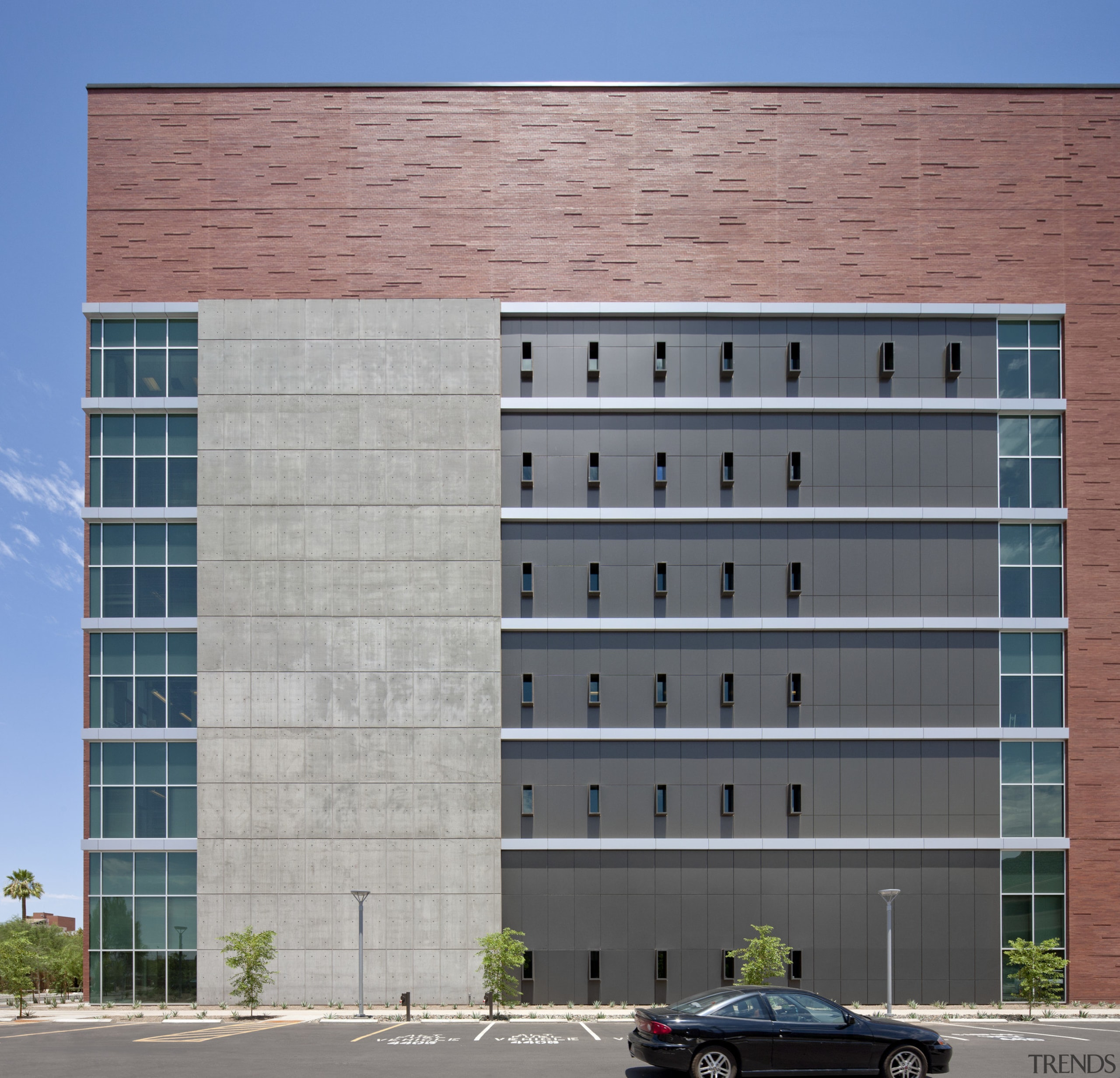 Arizona State University Interdisciplinary Science and Technology Building apartment, architecture, building, commercial building, condominium, corporate headquarters, daytime, elevation, facade, headquarters, metropolitan area, mixed use, real estate, residential area, window, gray