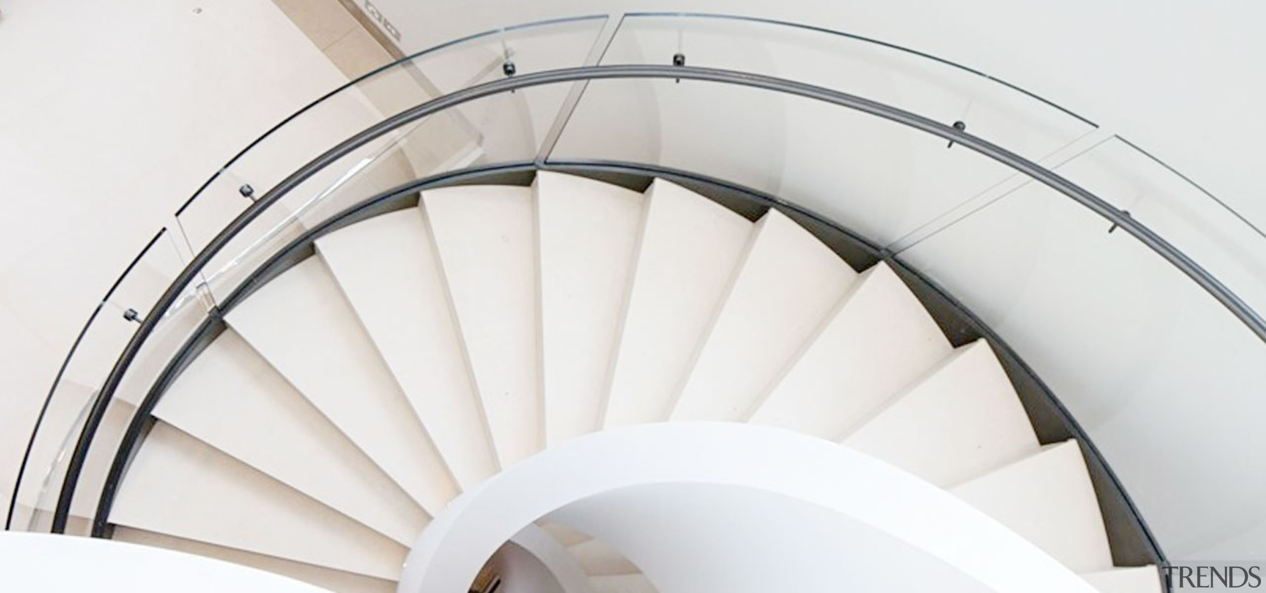 Killara 05 - arch | architecture | ceiling arch, architecture, ceiling, daylighting, material property, spiral, stairs, white, white