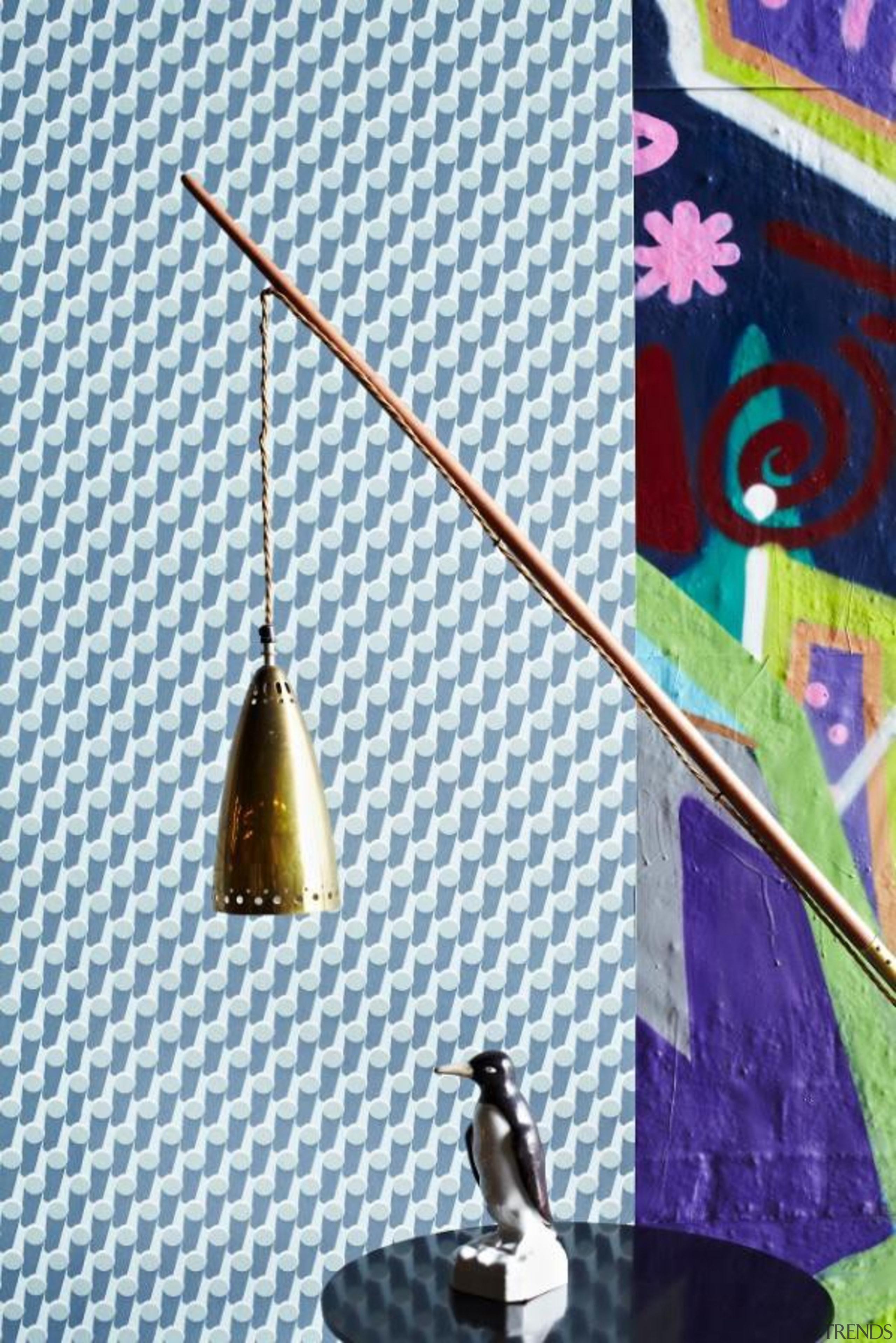 Eley Kishimoto Hand-Printed Wallpaper Collection - Eley Kishimoto triangle, white