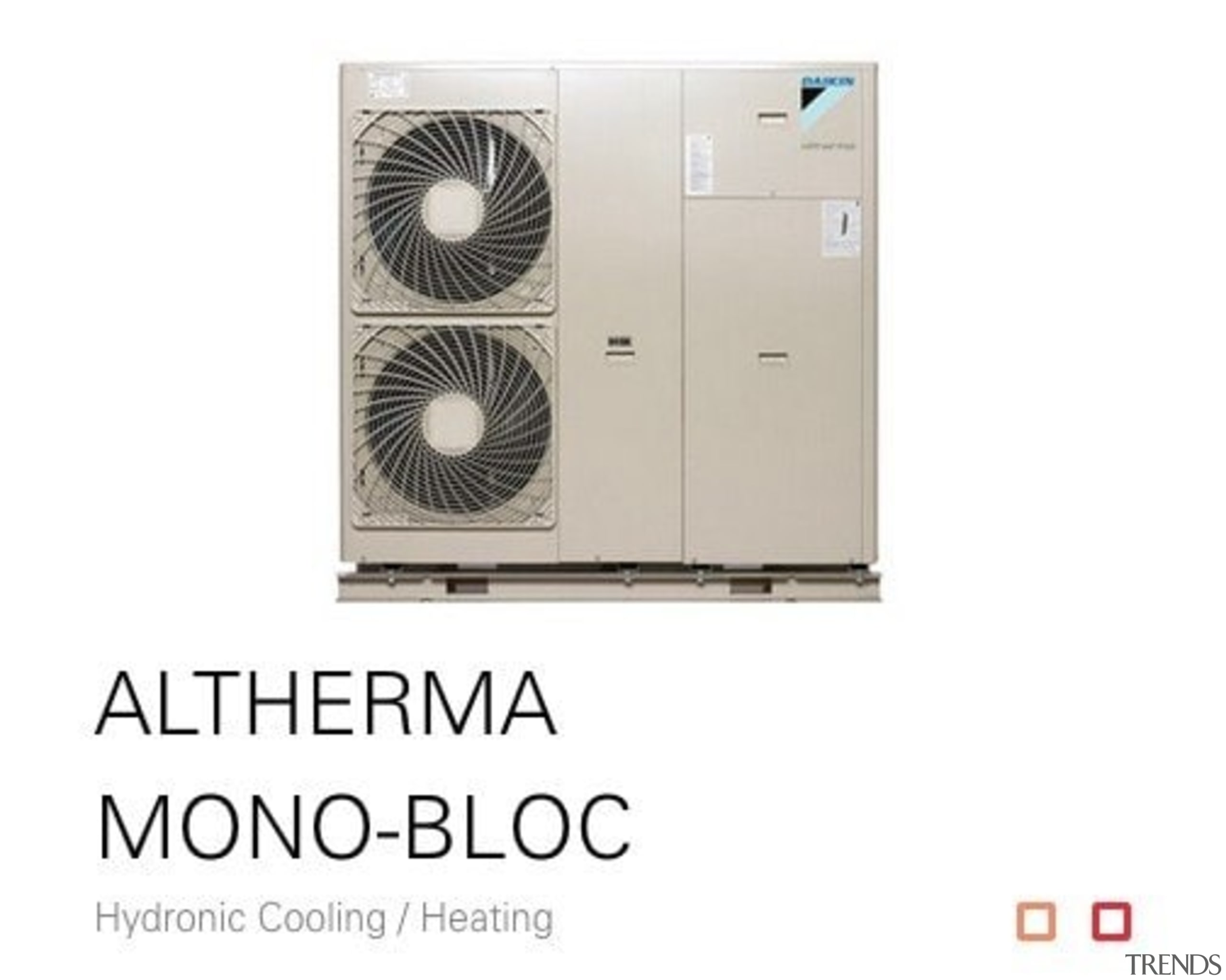 Altherma Mono Bloc - product | white product, white