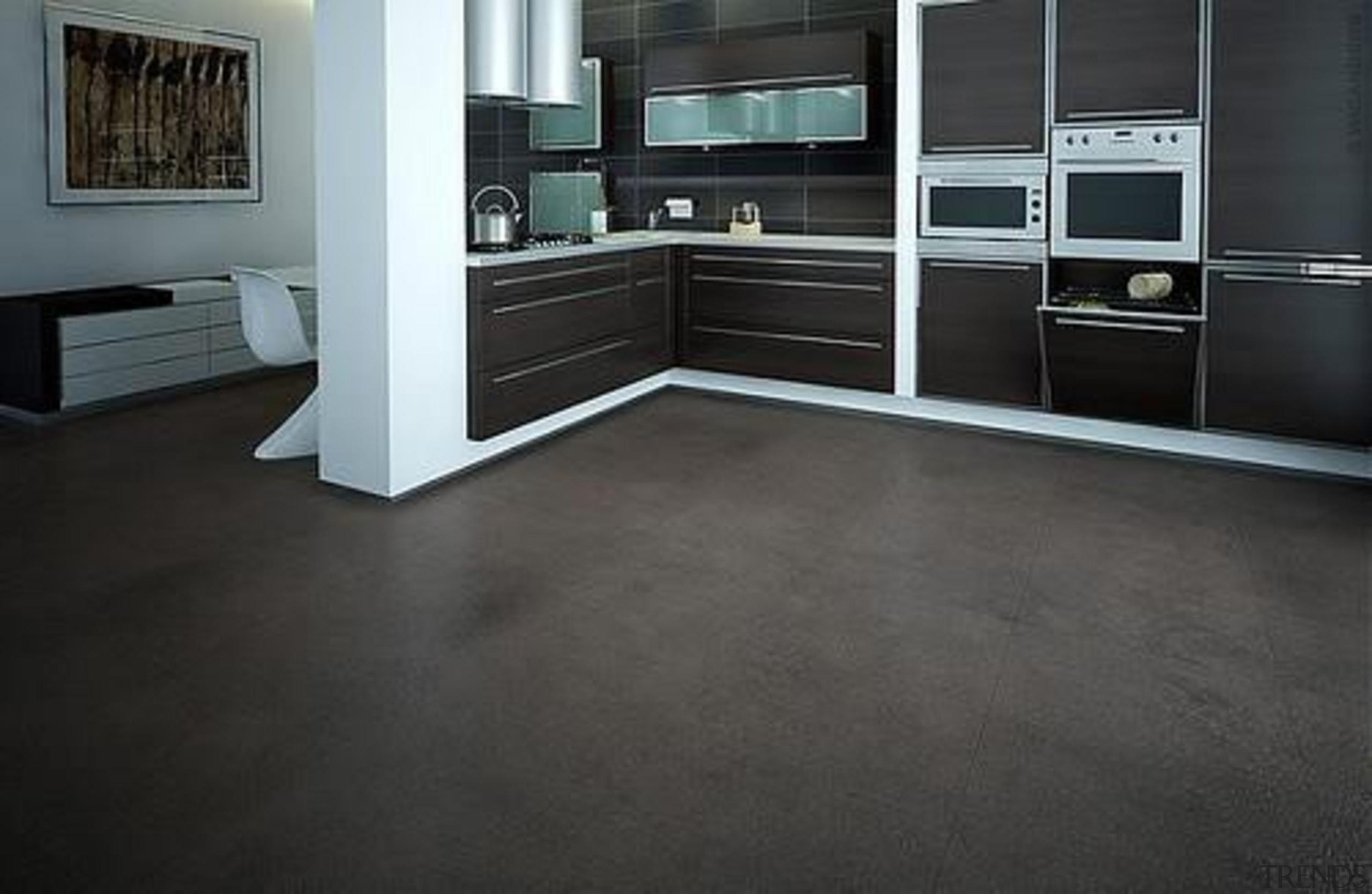 Cork Comfort - Pebbles Storm - Cork Comfort floor, flooring, hardwood, laminate flooring, tile, wood, wood flooring, black