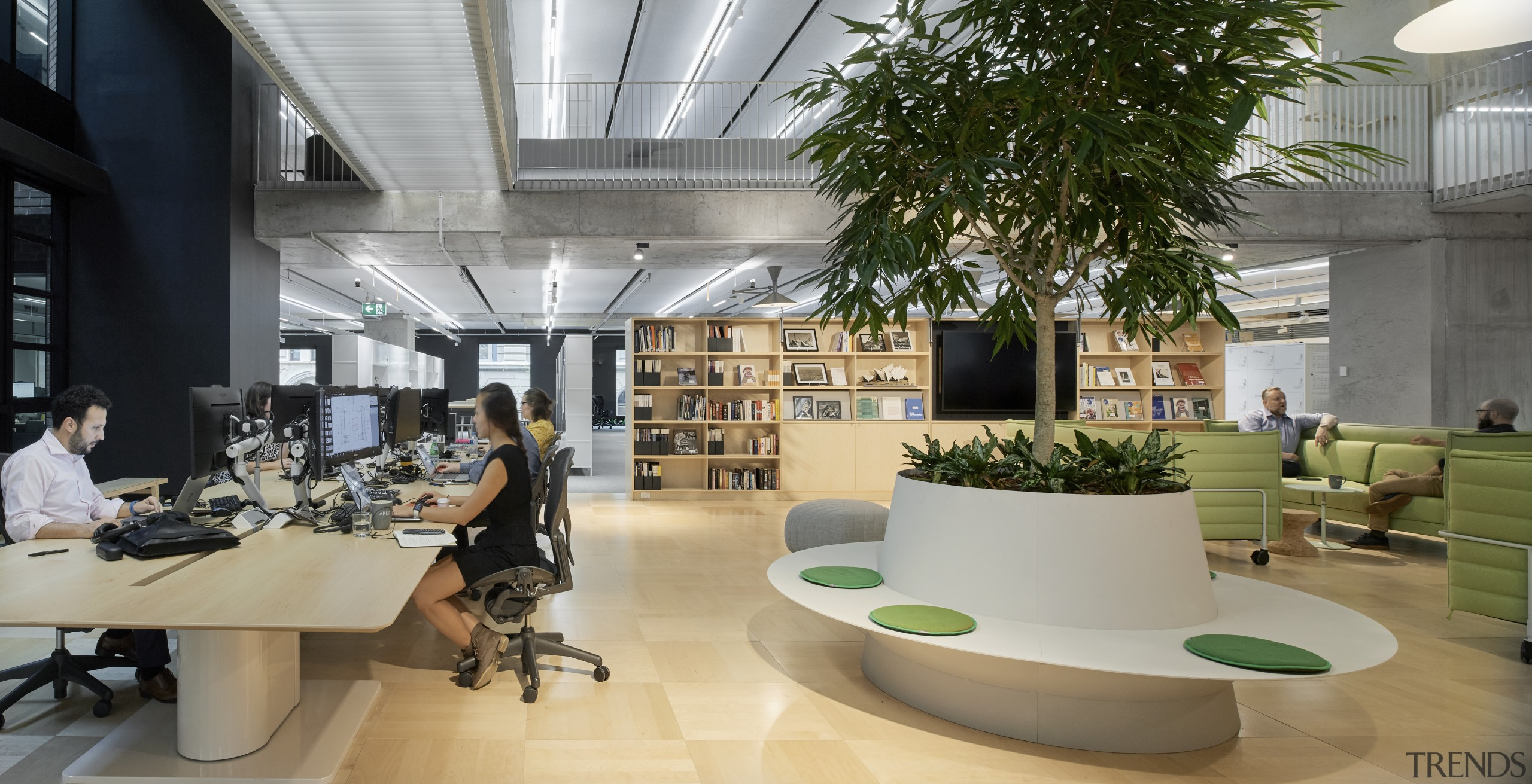 Engineering giant Arup teamed with architects Hassell to architecture, building, Arup Office, Hassell Architects, Sydney, Green values