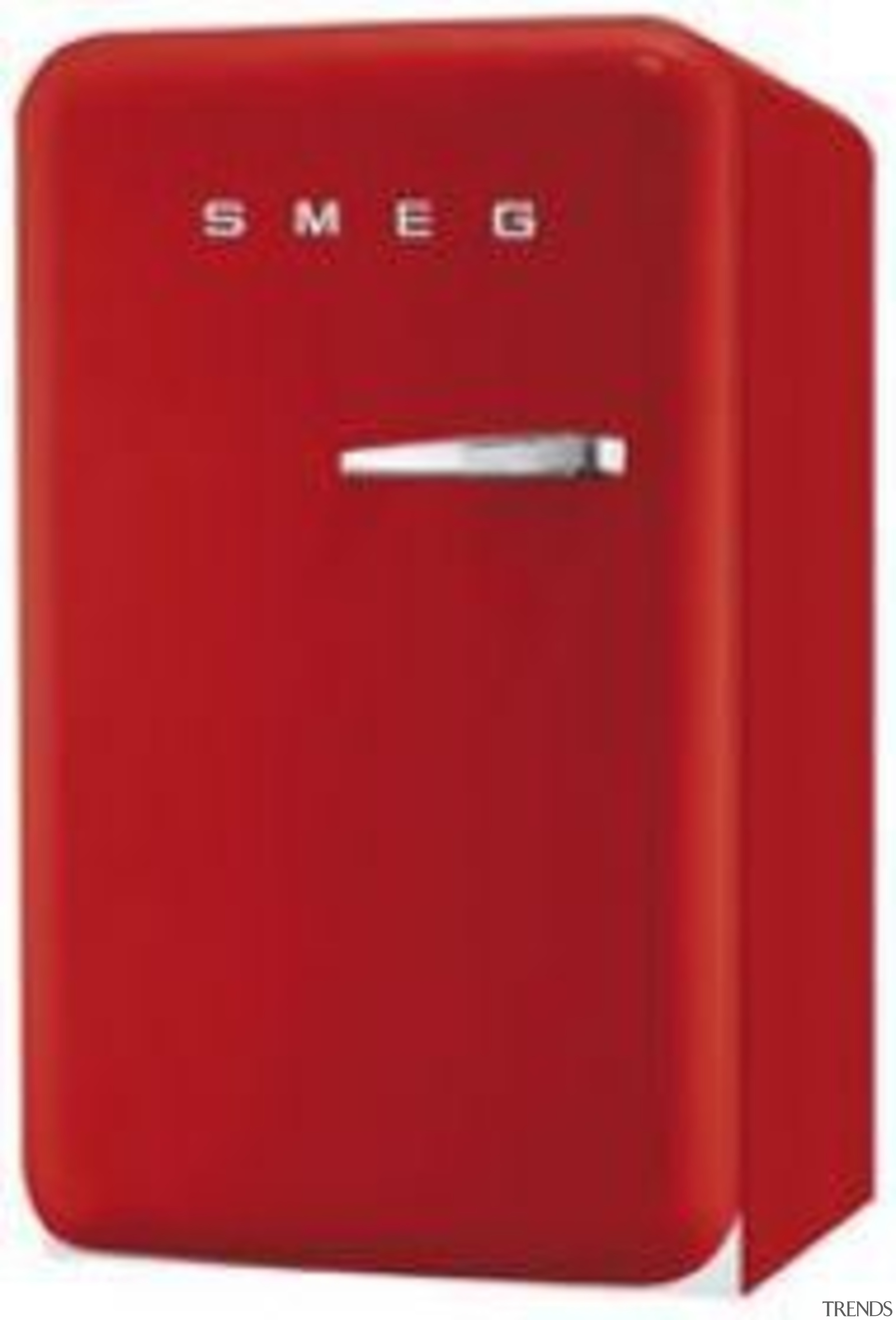 We love this fab red fridge from Smeg home appliance, product, product design, red, telephony, red