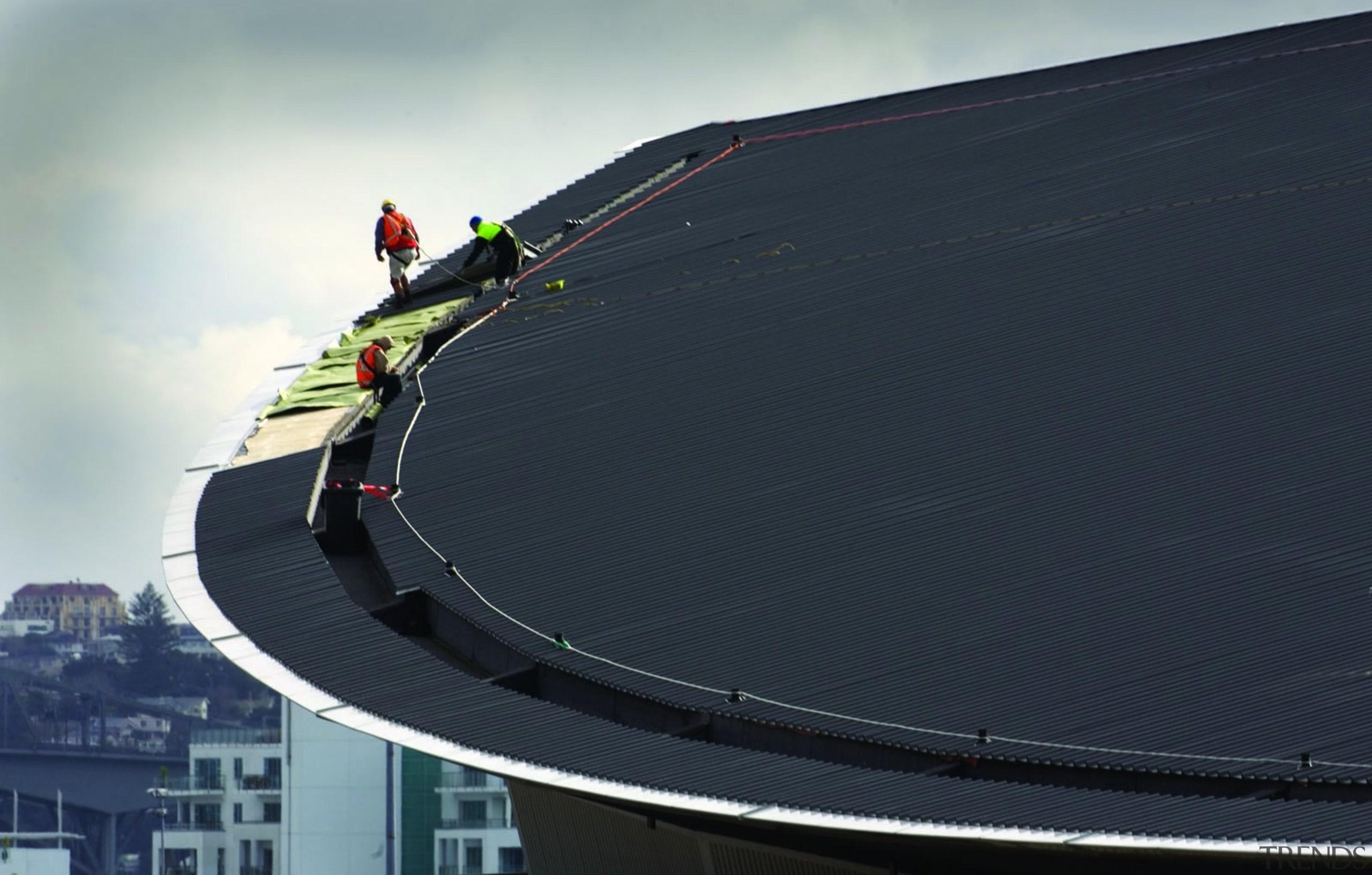 Vector Arena - Vector Arena - automotive exterior automotive exterior, line, roof, sky, structure, black