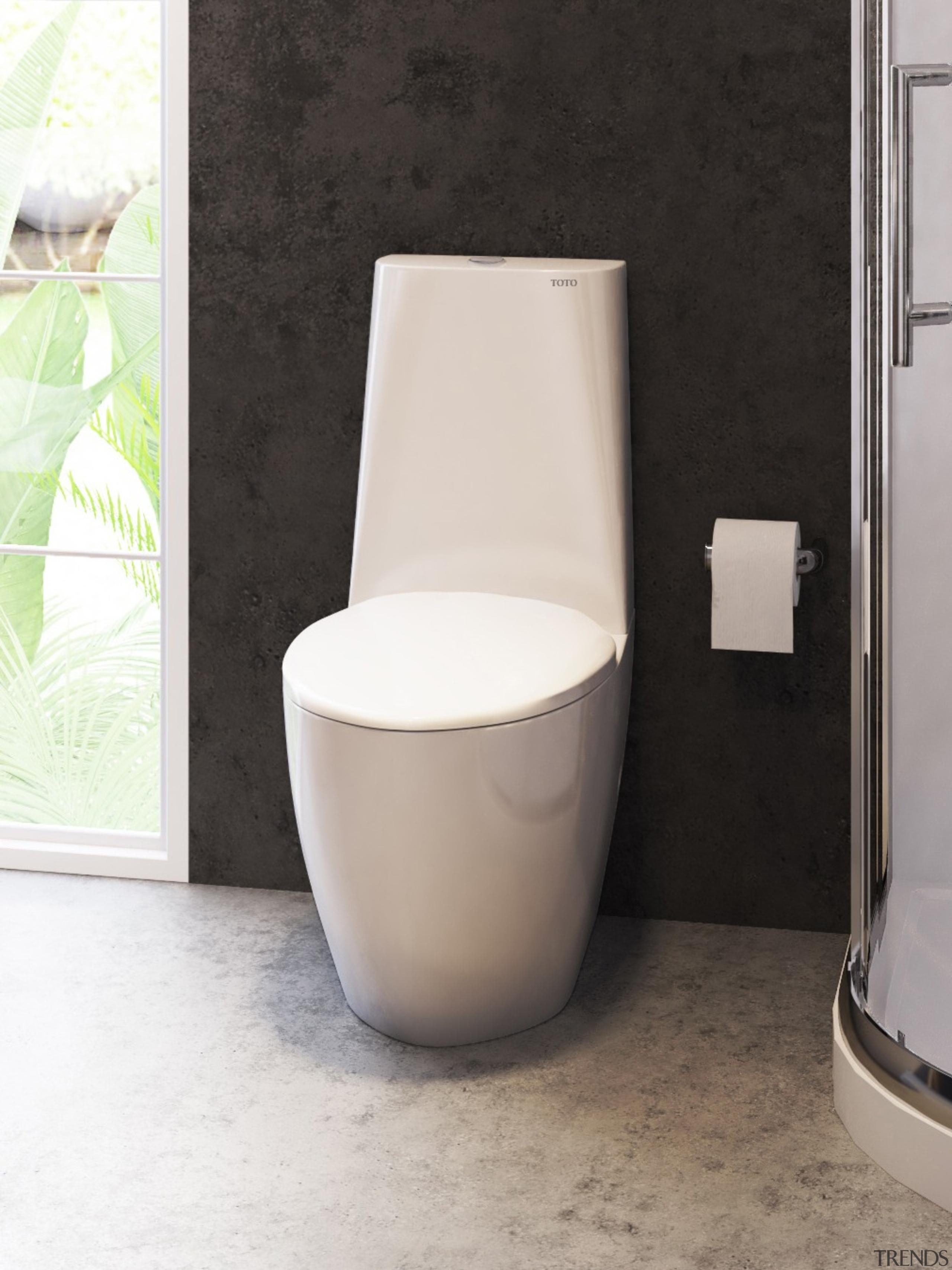 The timeless designs of TOTO toilet suites set ceramic, plumbing fixture, tap, toilet, toilet seat, white, black