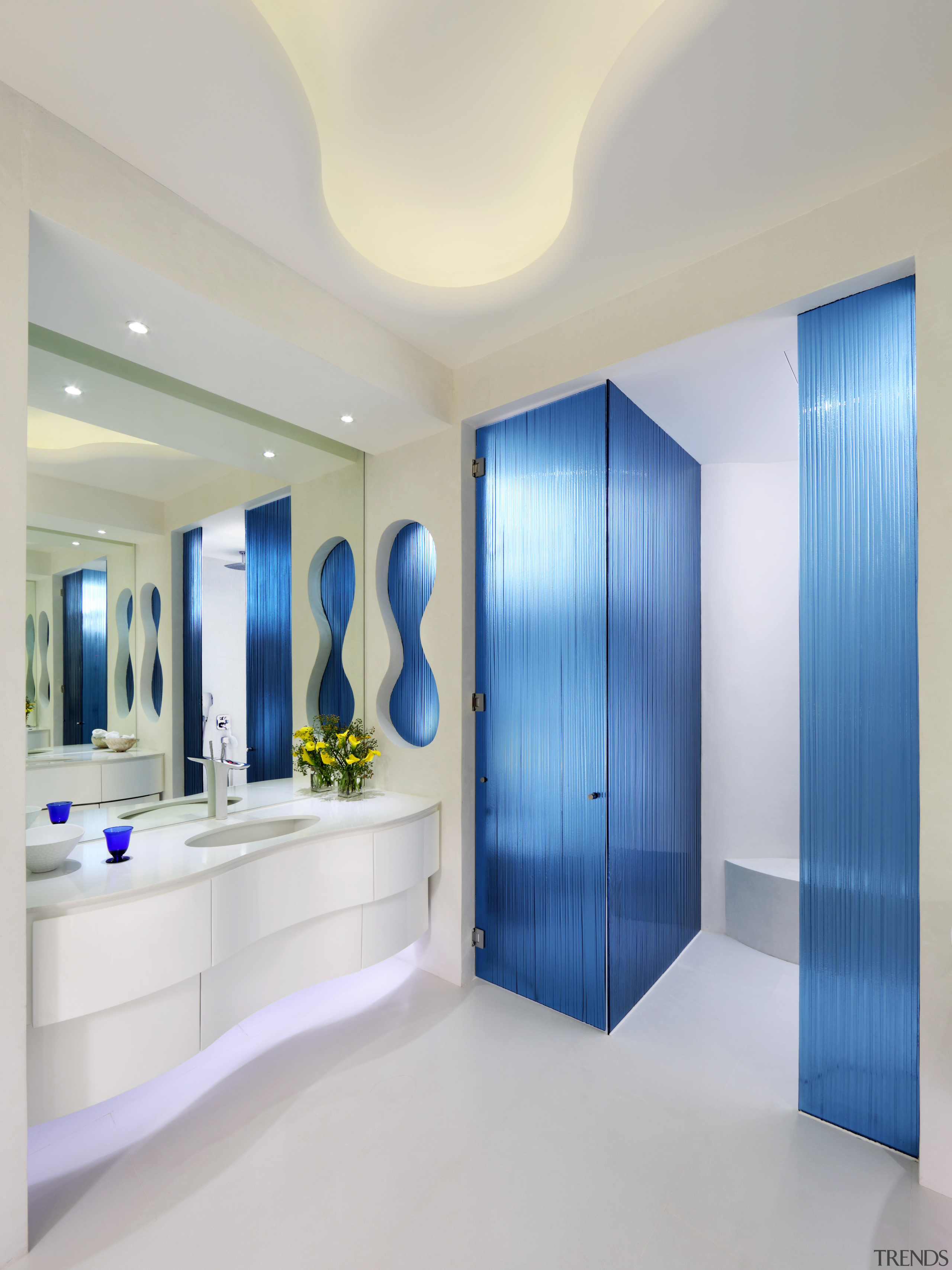 As a one-off space, this master ensuite has ceiling, interior design, real estate, gray