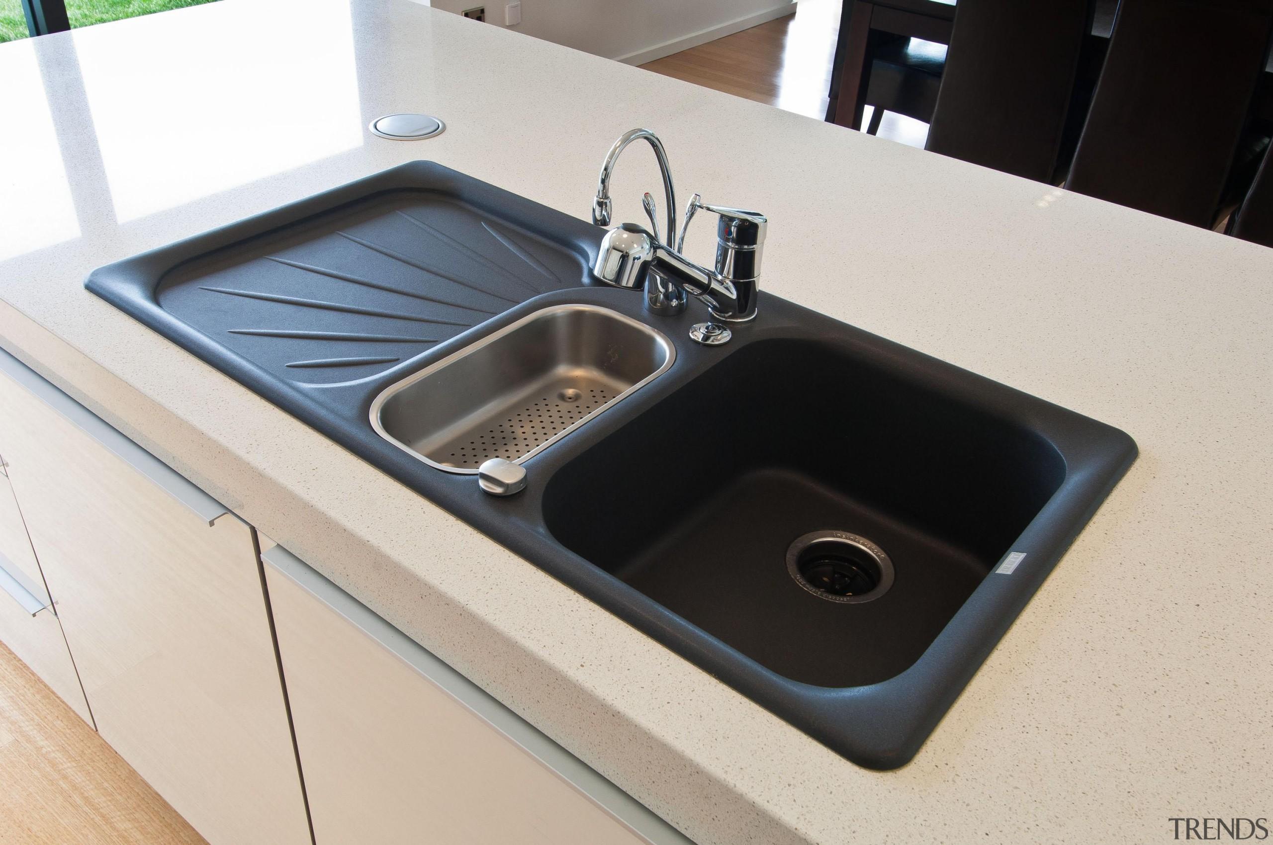 Khandallah Kitchen - Khandallah Kitchen - bathroom sink bathroom sink, countertop, hardware, plumbing fixture, product design, sink, white, black