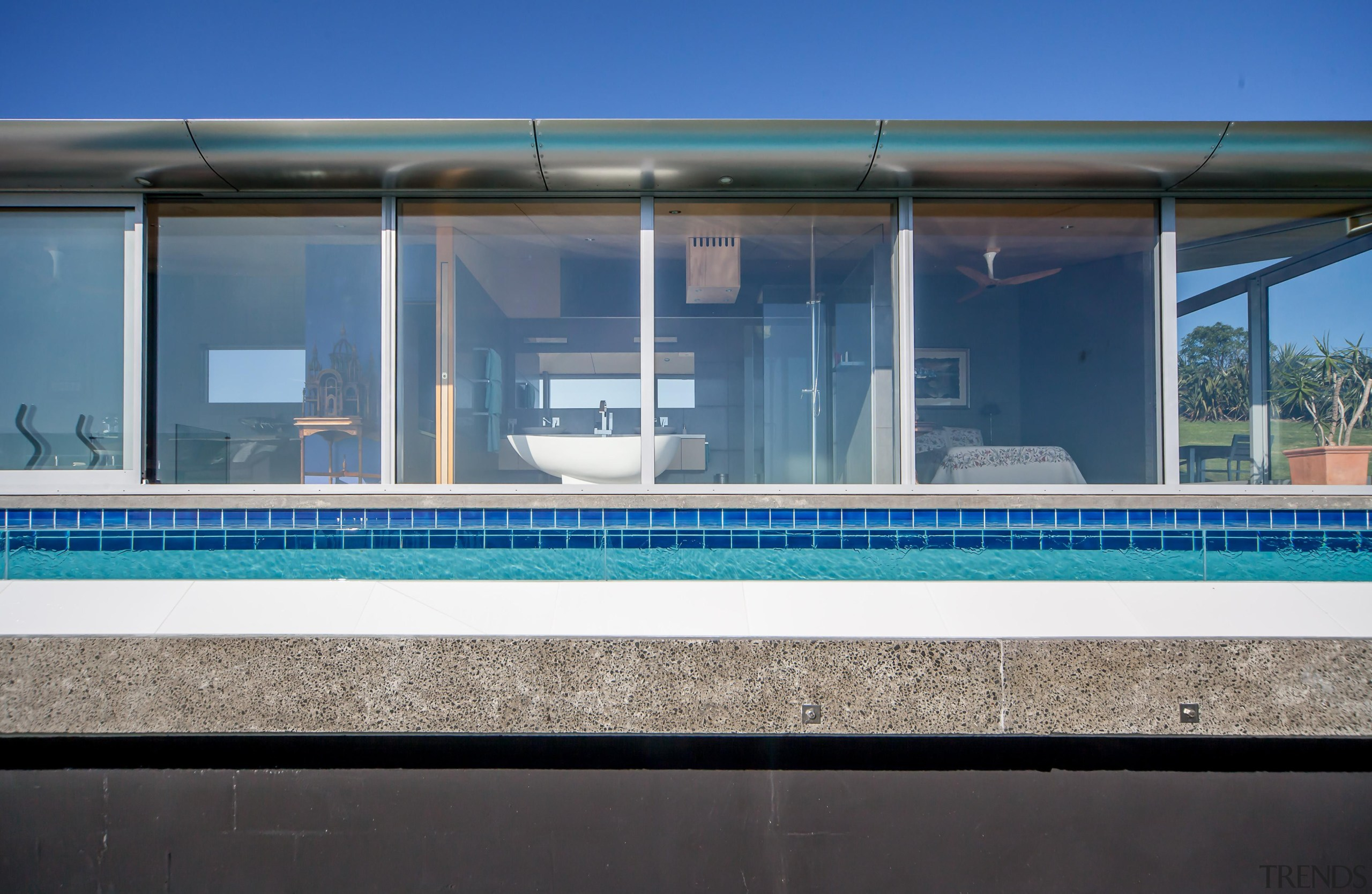 Capturing the spectacular views was a priority for architecture, facade, glass, house, real estate, window