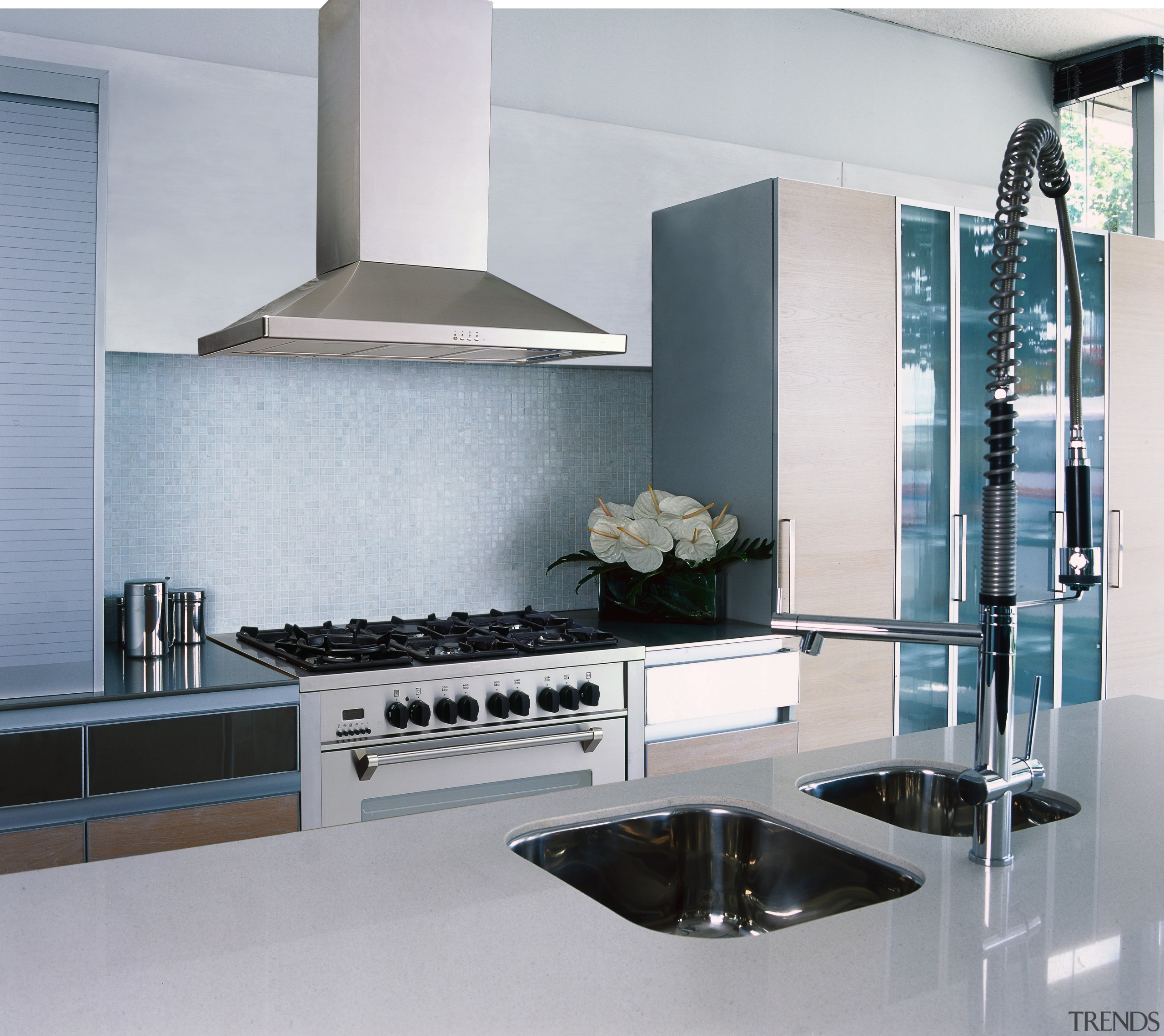 view of the delonghi stainless steel oven/hob and countertop, interior design, kitchen, product design, gray