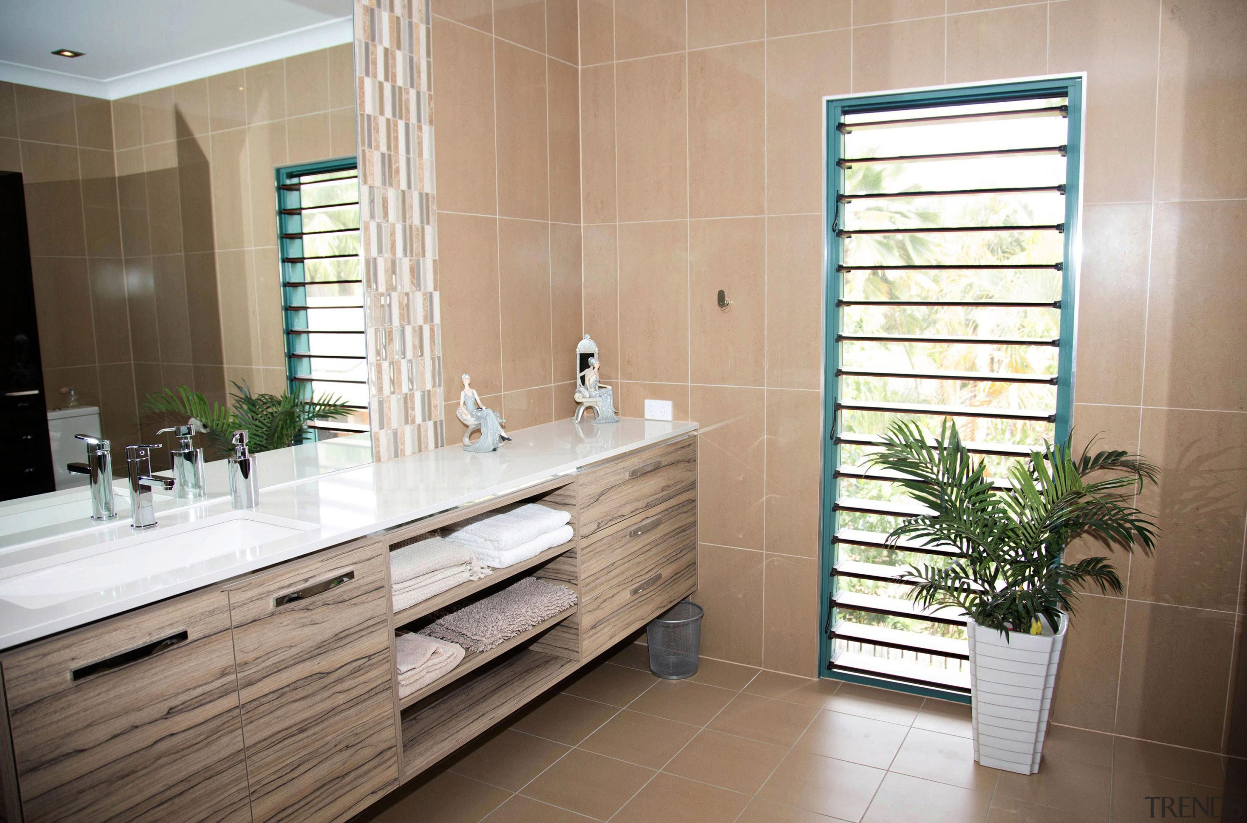 Winner Bathroom of the Year 2013 North Queensland bathroom, cabinetry, floor, flooring, home, interior design, room, gray
