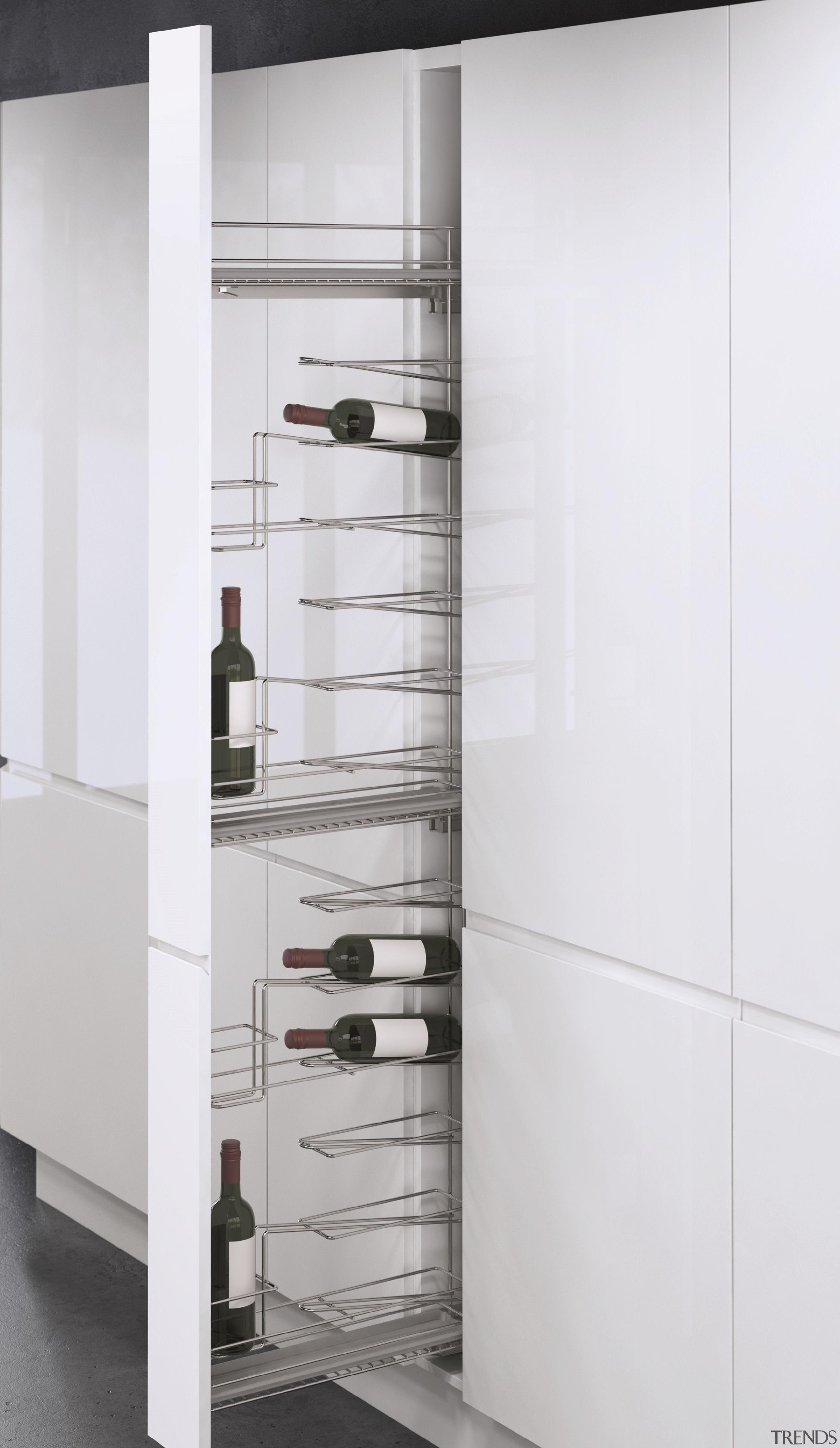 Vauth-Sagel's VS TAL WIRO Rack 15 & Bottle bathroom accessory, furniture, product, wardrobe, white, gray