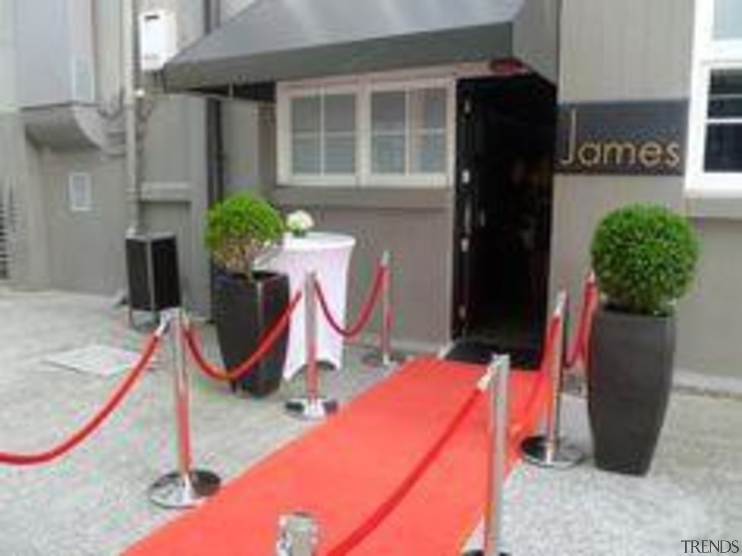 at James, Parnell - The Red Carpet - floor, house, real estate, vehicle, gray