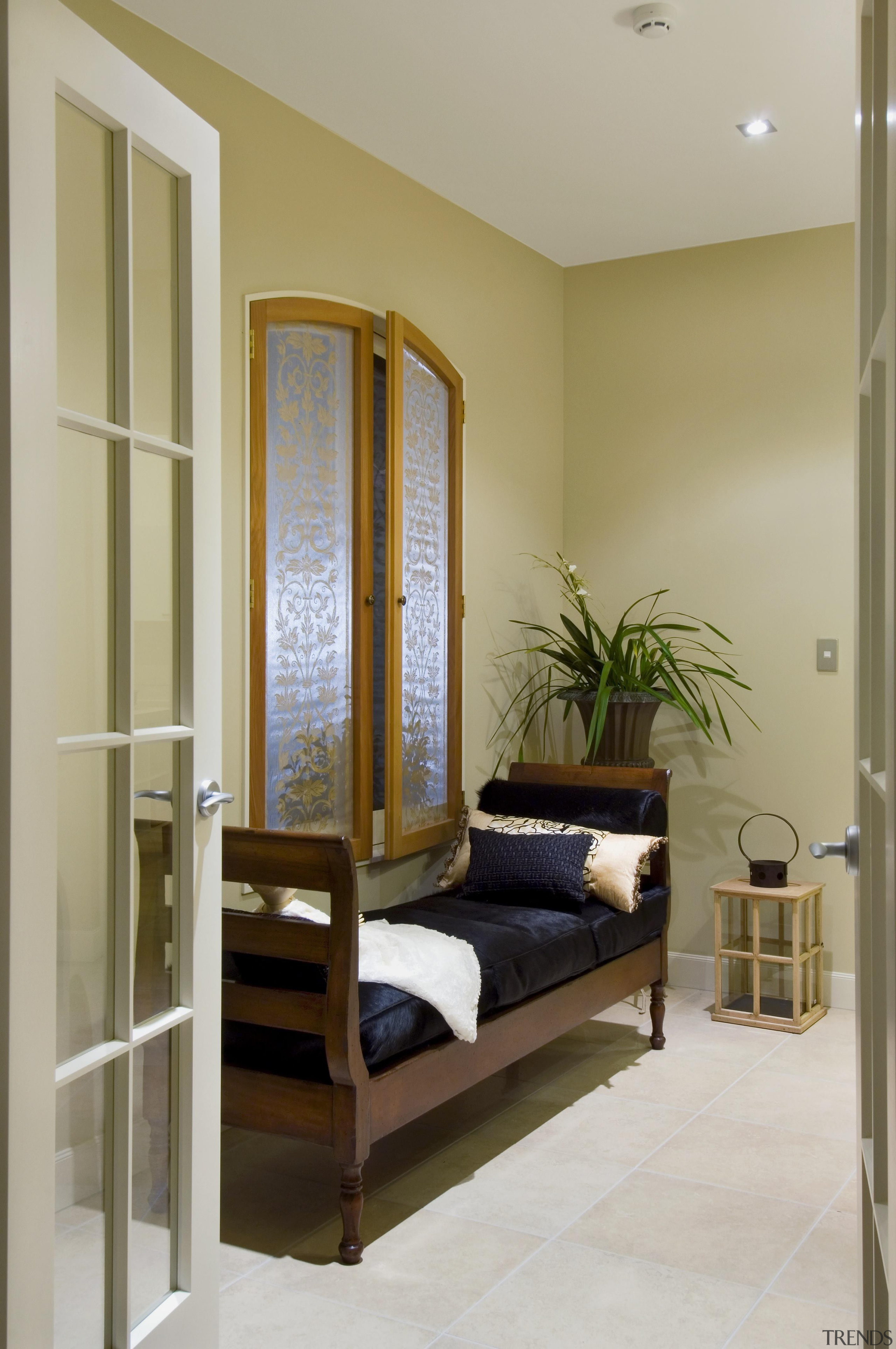 139 mahoenui 9 - Mahoenui 9 - bed bed frame, door, floor, furniture, home, interior design, room, window, gray, brown
