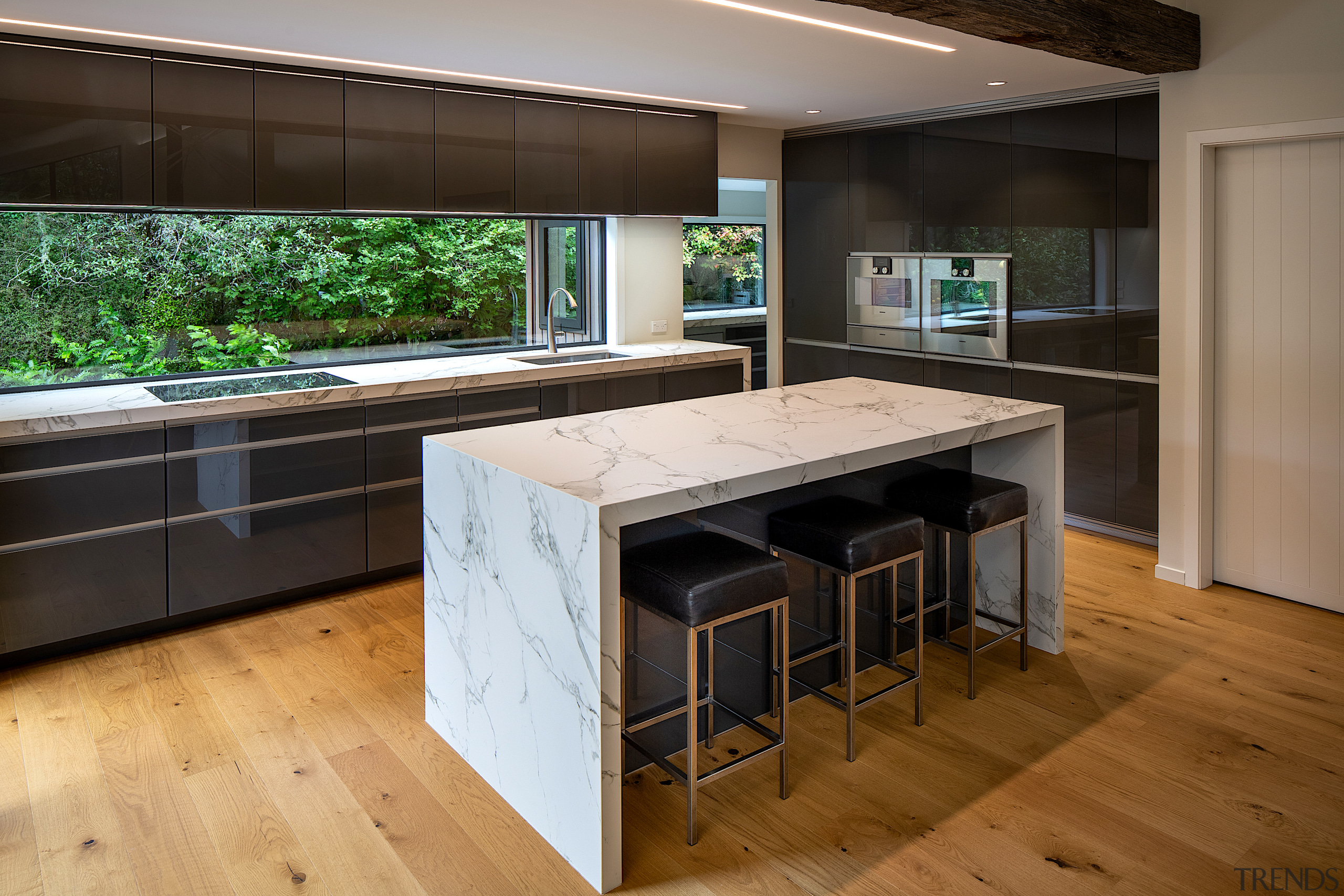 Much of the utility of this kitchen –