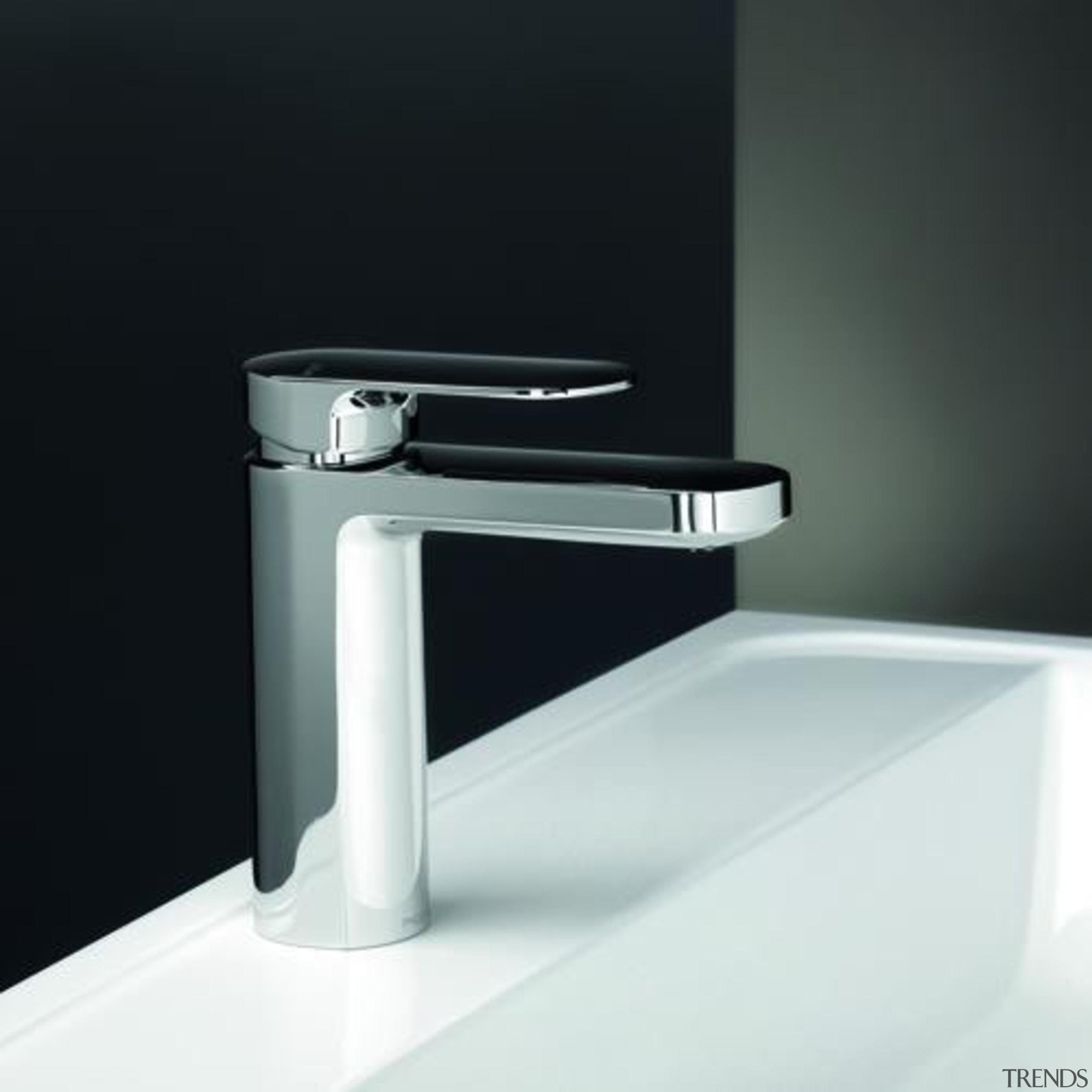 Cerchio Basin Mixer - Cerchio Basin Mixer - angle, bathroom sink, hardware, plumbing fixture, product, product design, tap, black, white
