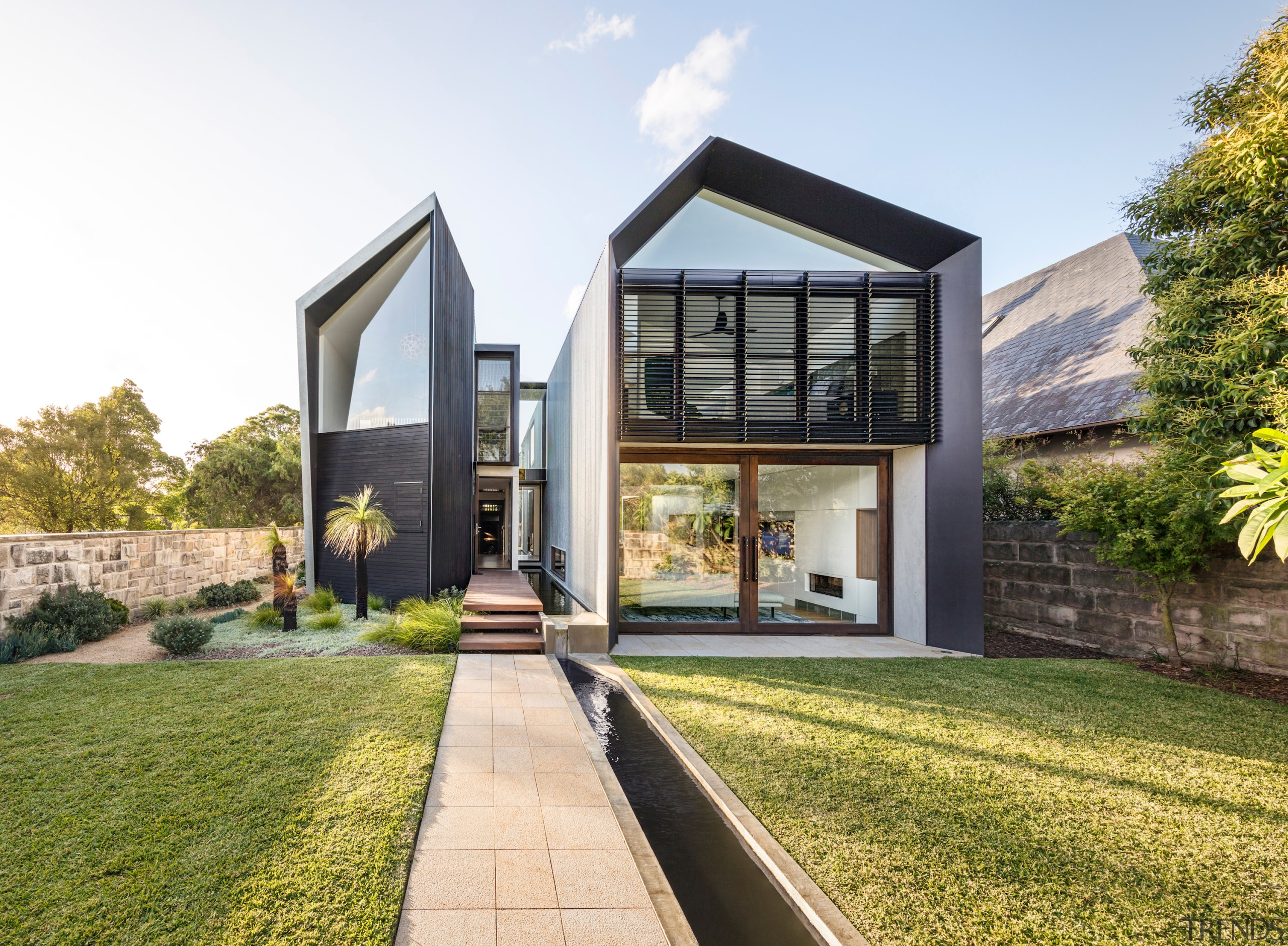 Runner-up – CplusC Architectural Workshop – 2018 TIDA architecture, estate, facade, home, house, property, real estate, residential area, white