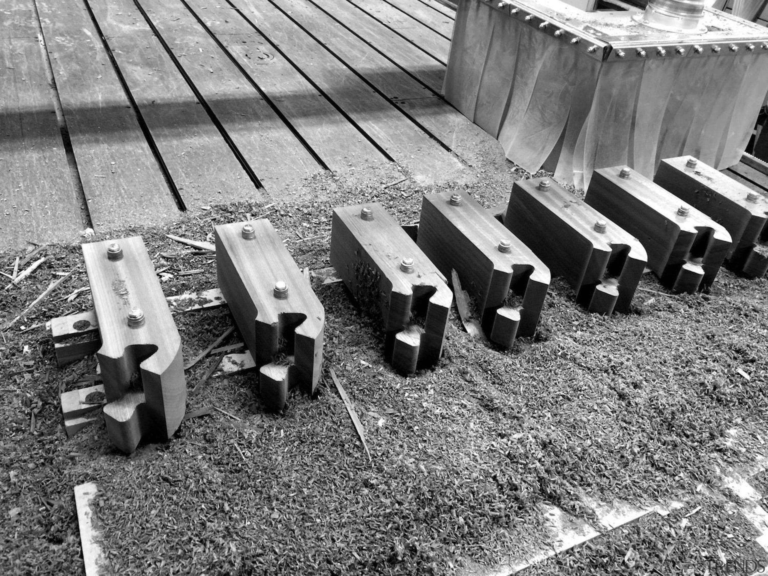 Architect: J.Roc Design black and white, line, metal, monochrome, monochrome photography, wood, gray, black