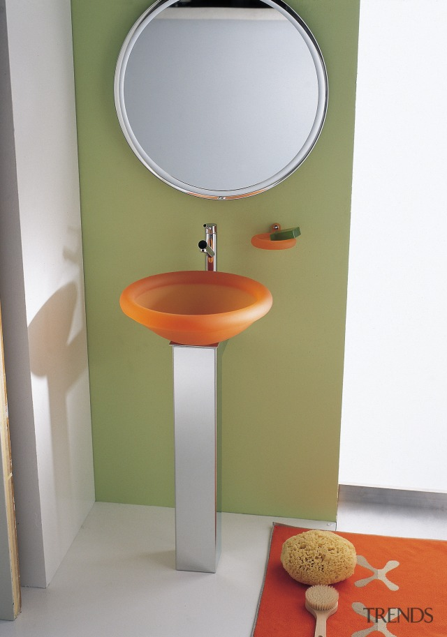 Orange Pedestal Basin In Bathroom S Gallery 5 Trends
