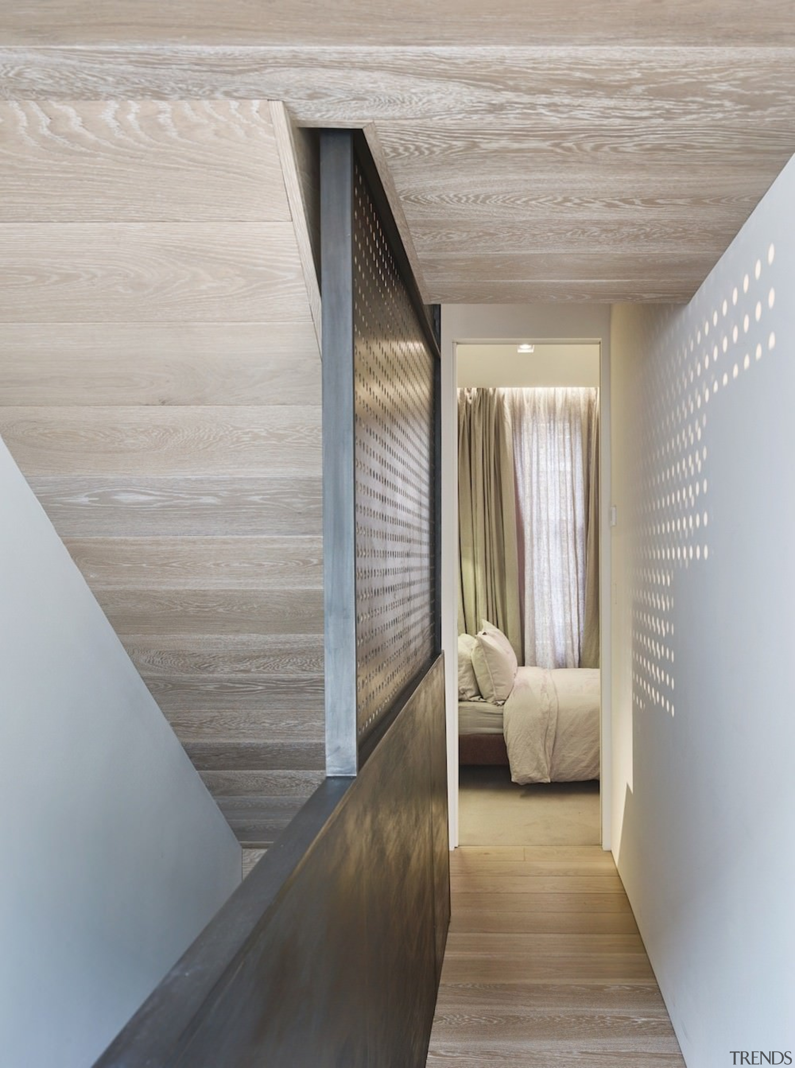 Andy Martin Architecture – Renovation in London - architecture, ceiling, daylighting, floor, flooring, house, interior design, wood, wood flooring, gray